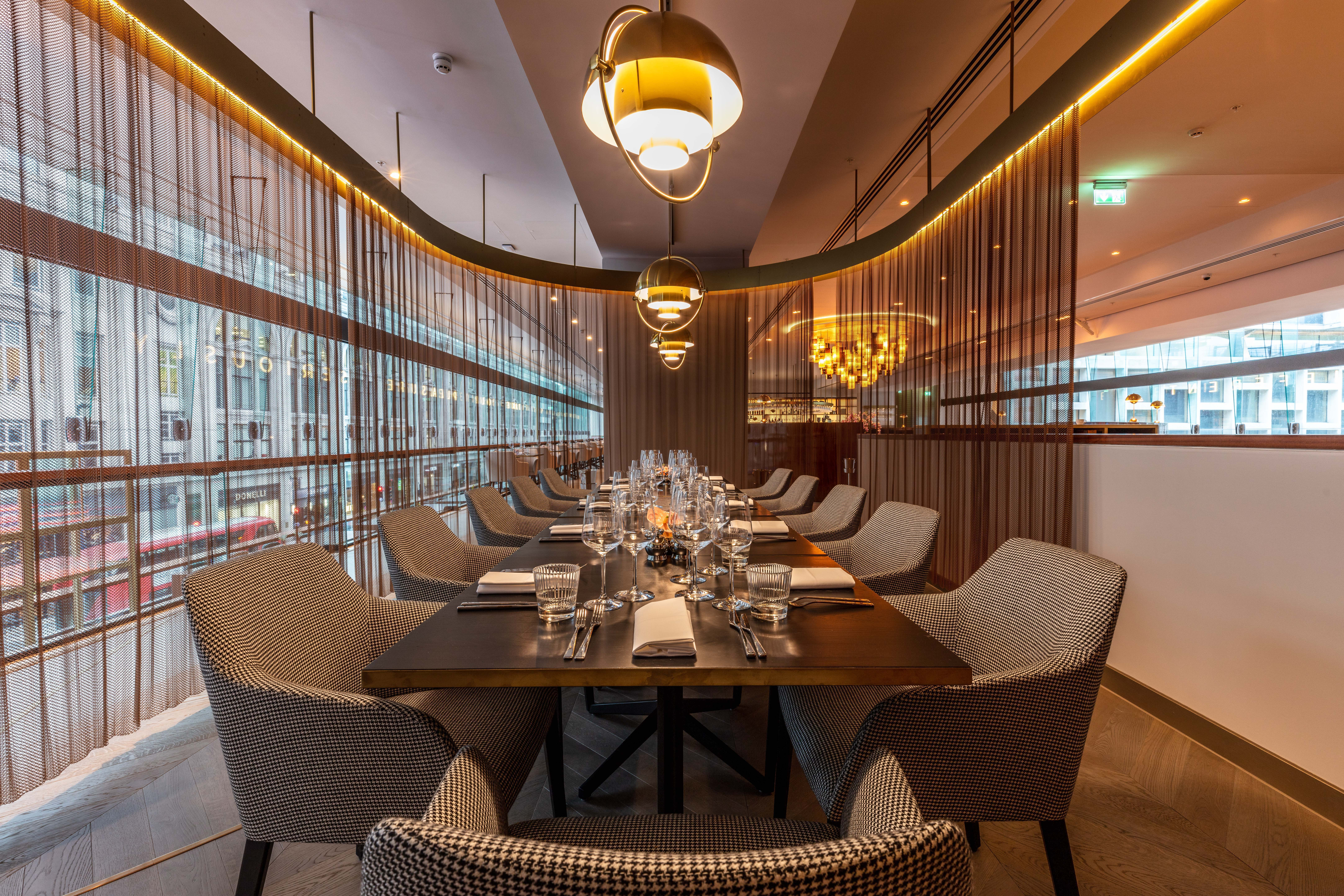 Private Dining Rooms At Vivi – Centre Point, 11 St Giles Square In Most Current Giles 3 Piece Dining Sets (View 20 of 20)