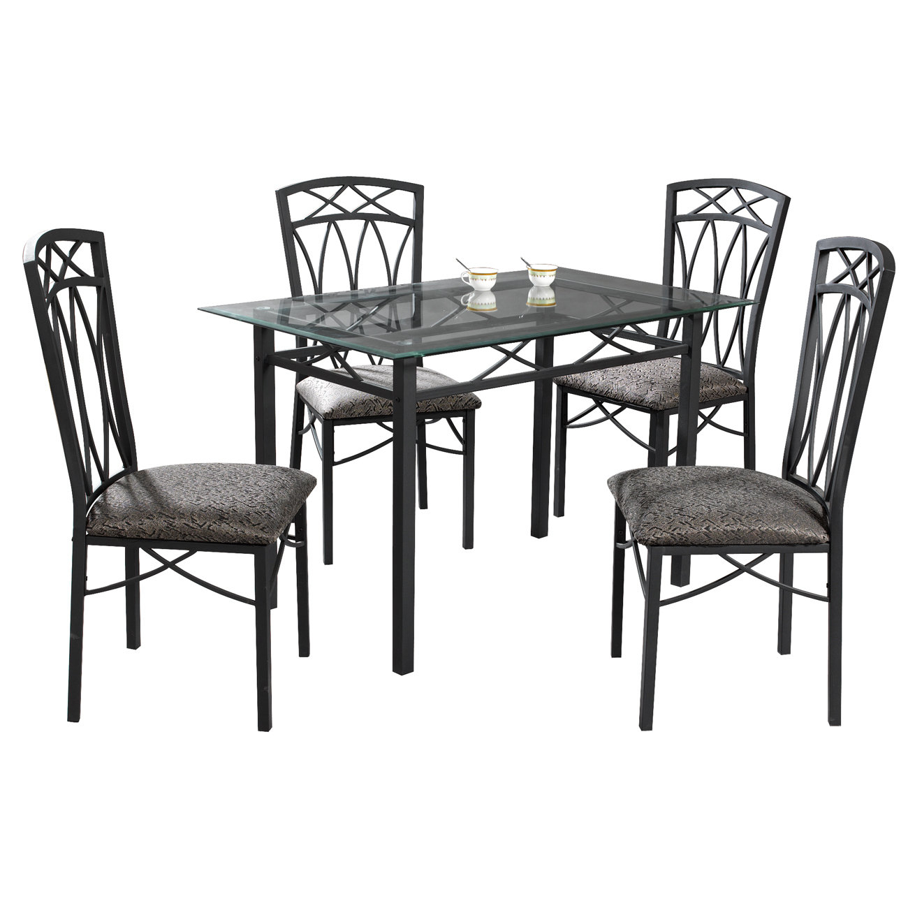 Queener 5 Piece Dining Set With Regard To Most Popular Queener 5 Piece Dining Sets (Photo 1 of 20)