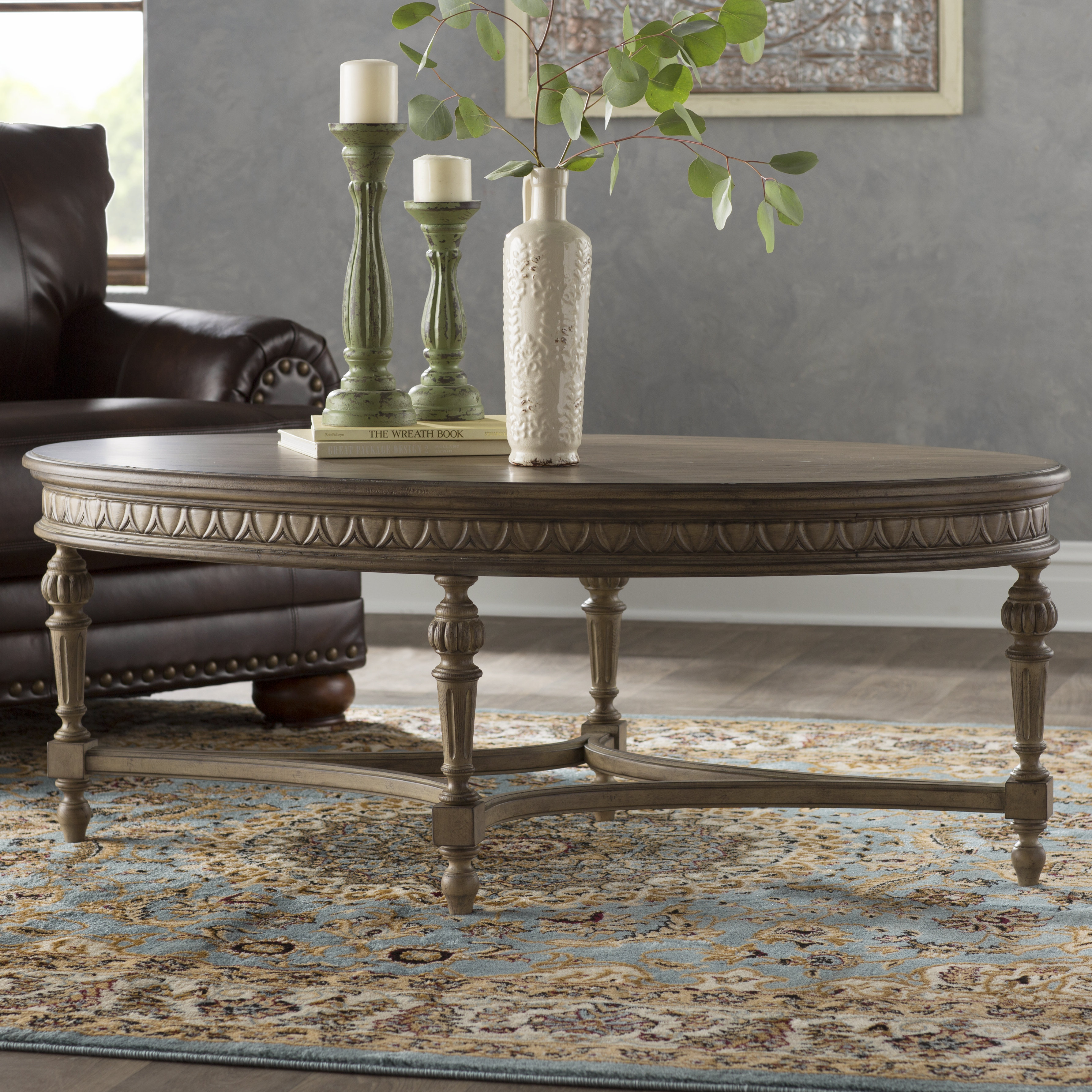 Queener Coffee Table Within Most Recently Released Queener 5 Piece Dining Sets (View 13 of 20)