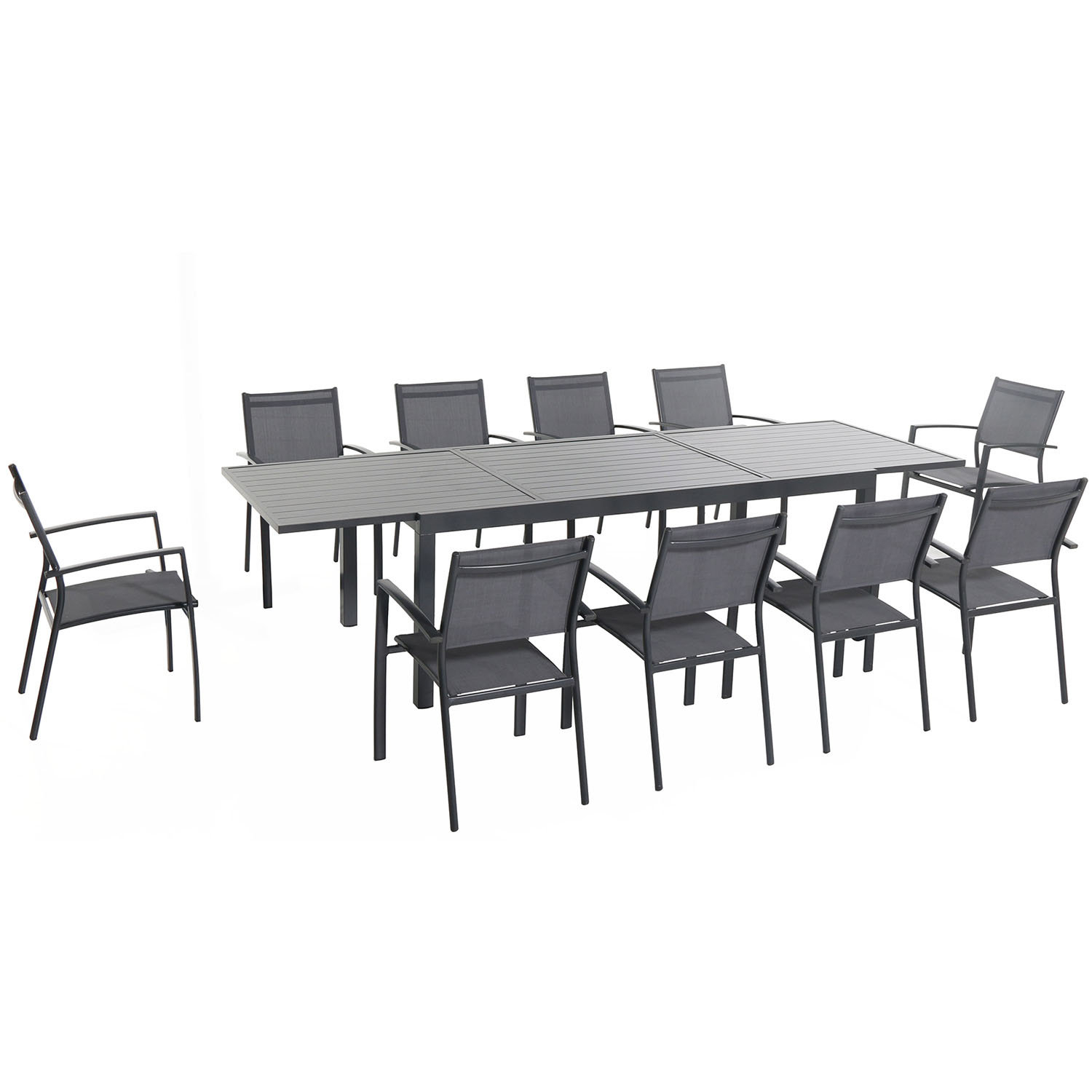 Rayleigh 11 Piece Dining Set Pertaining To Current Smyrna 3 Piece Dining Sets (View 20 of 20)