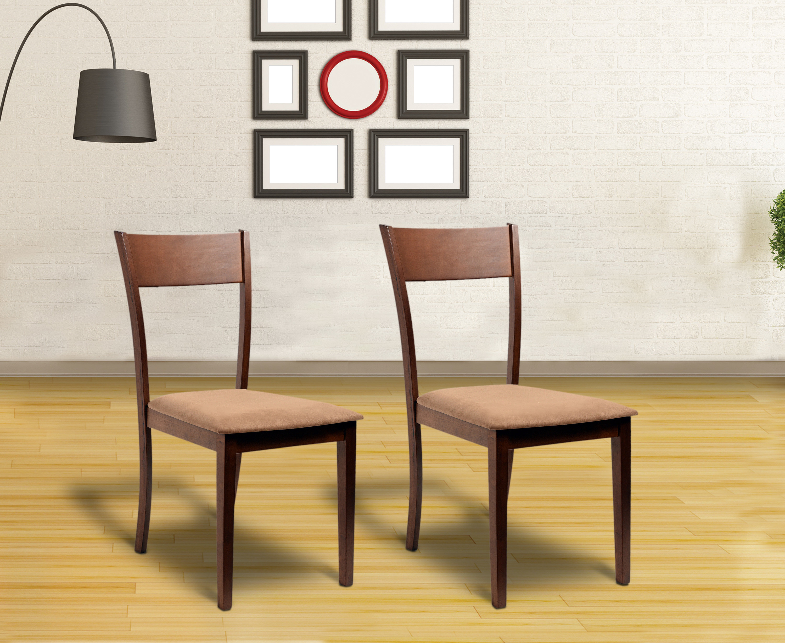 Roosevelt Upholstered Dining Chair Pertaining To Best And Newest Hanska Wooden 5 Piece Counter Height Dining Table Sets (Set Of 5) (Photo 18 of 20)
