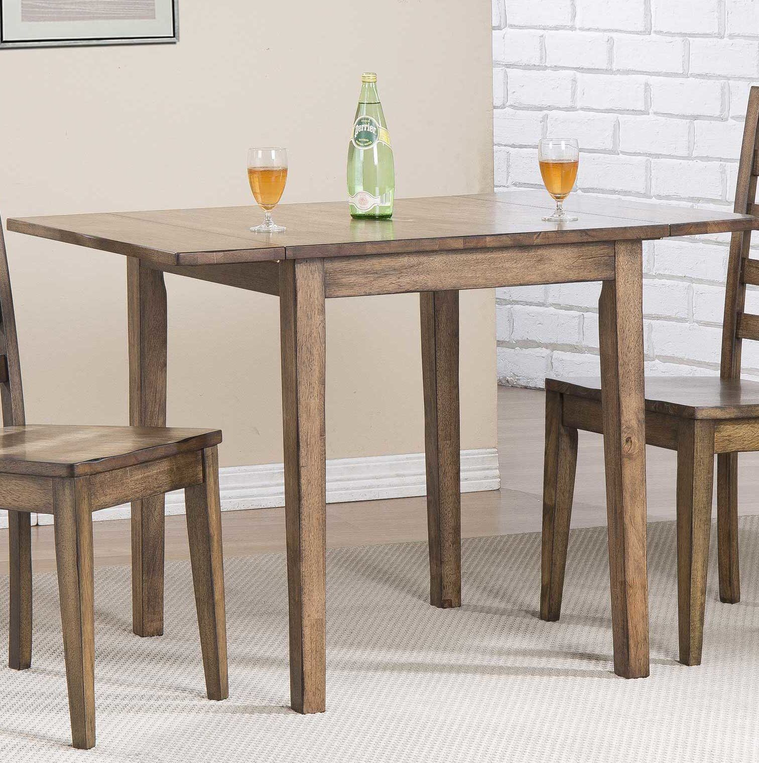 Rutledge Drop Leaf Dining Table | Kristina H | Dining Table In With Newest Debby Small Space 3 Piece Dining Sets (Photo 13 of 20)
