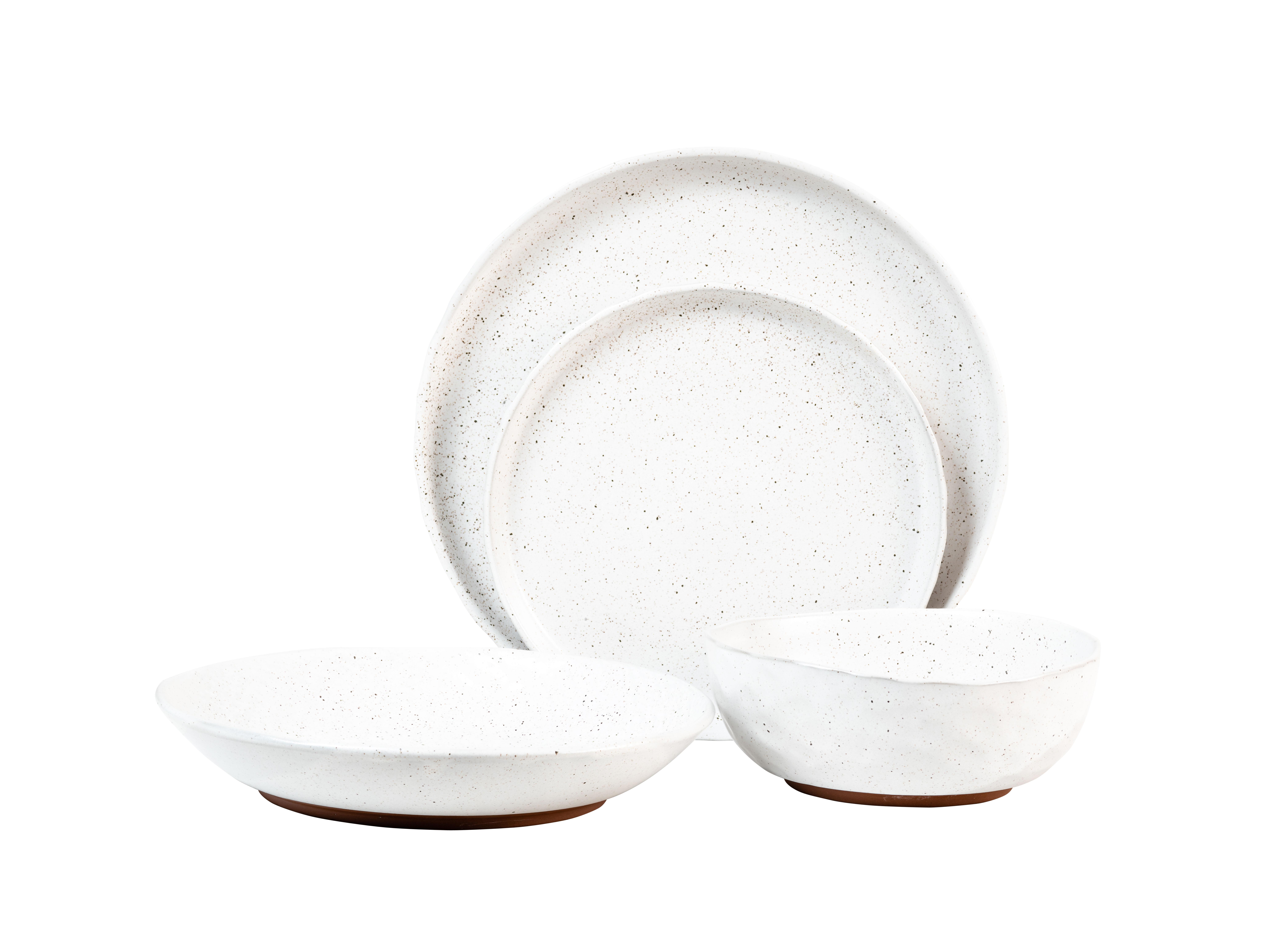 Sango Kaya White 16 Piece Dinnerware Set With Regard To Latest Kaya 3 Piece Dining Sets (View 19 of 20)