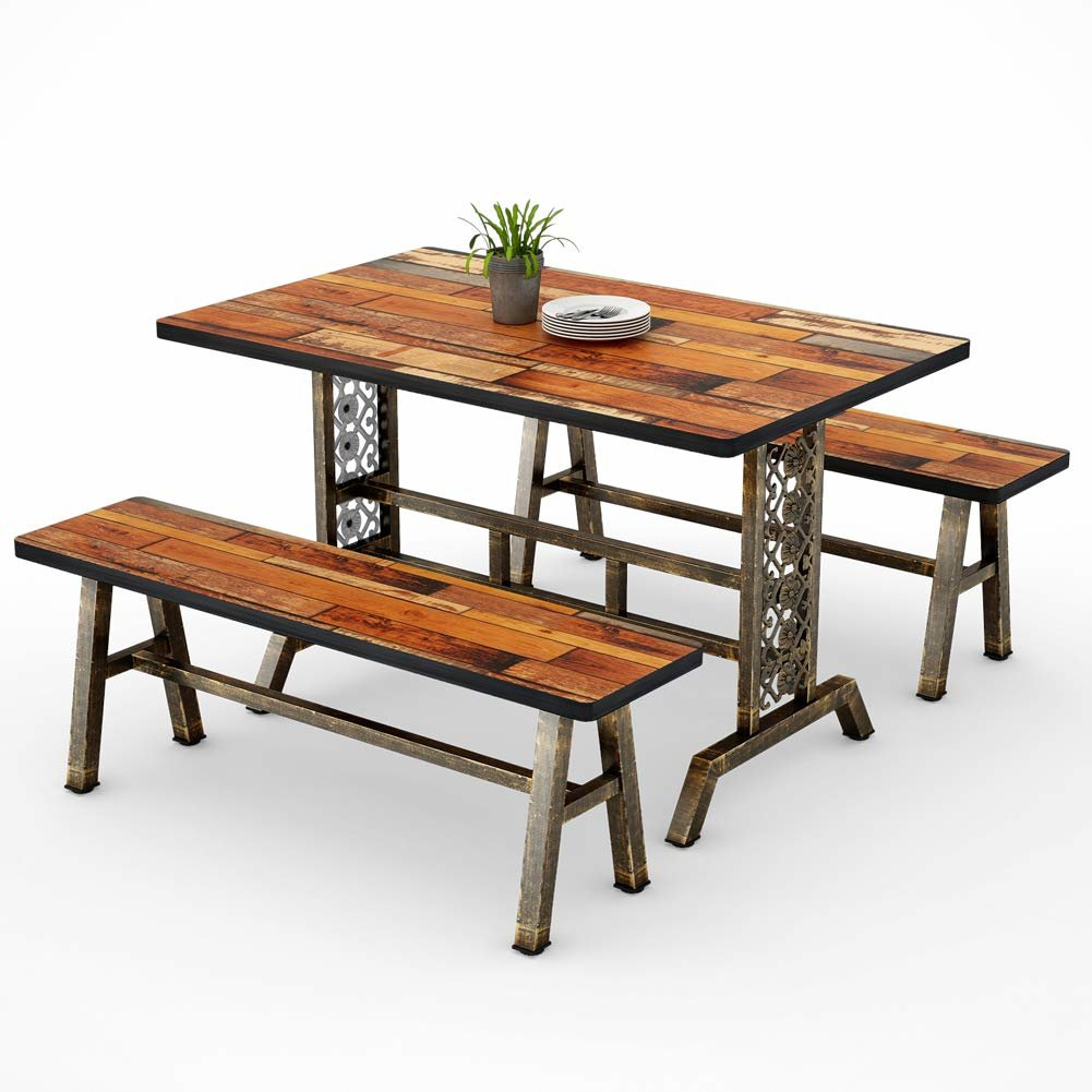 Featured Image of Shepparton Vintage 3 Piece Dining Sets