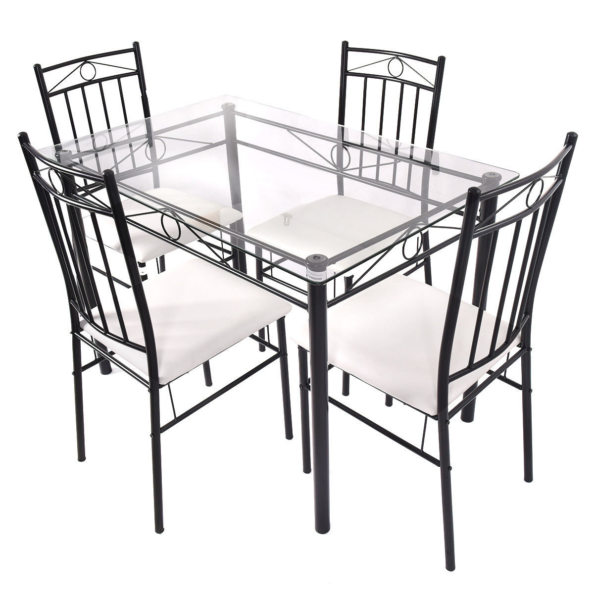 Shipststour 5 Piece Dining Set Pertaining To 2018 Ganya 5 Piece Dining Sets (Image 17 of 20)