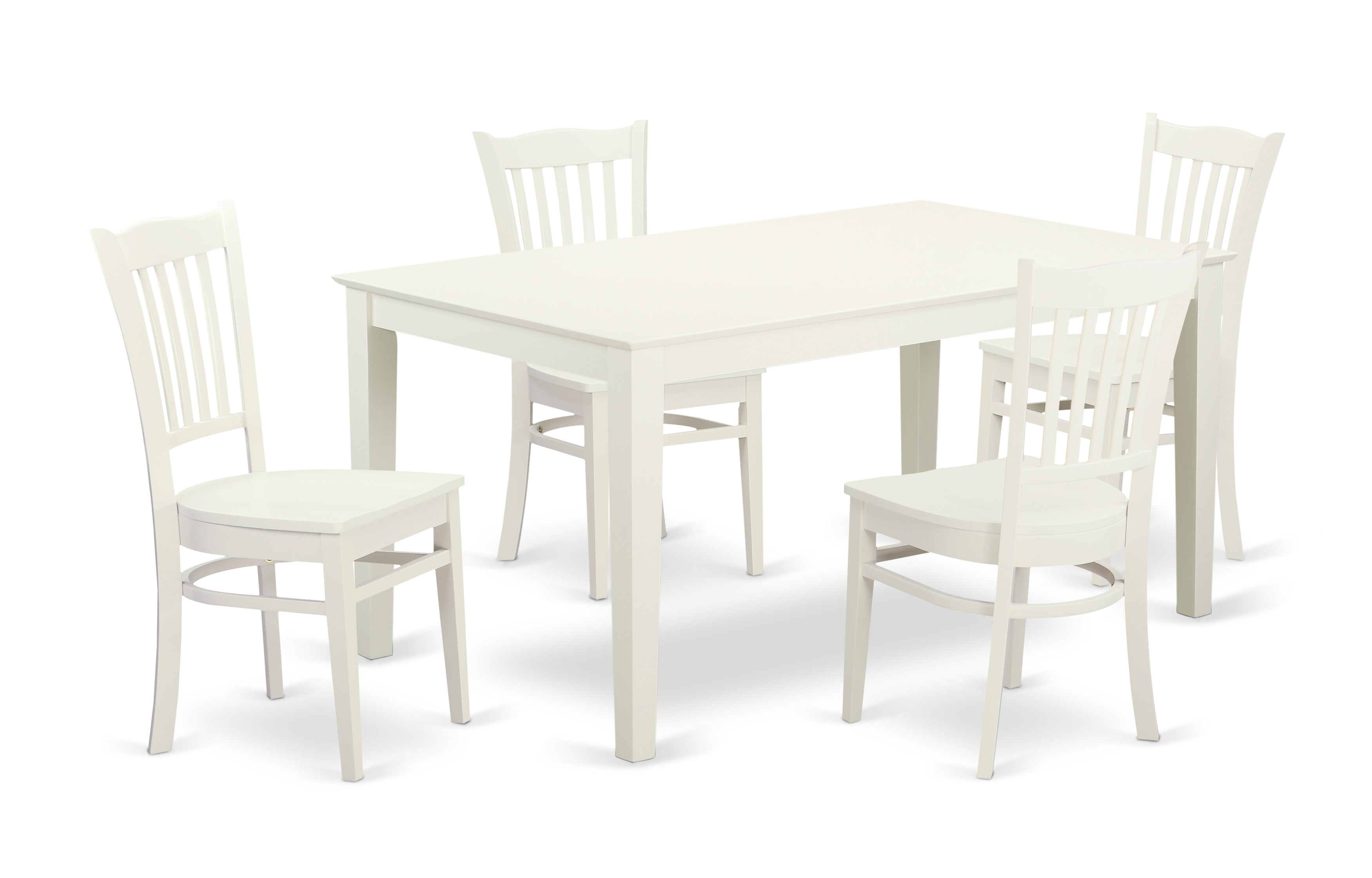 Smyrna 5 Piece Solid Wood Dining Set With Regard To Latest Smyrna 3 Piece Dining Sets (View 12 of 20)