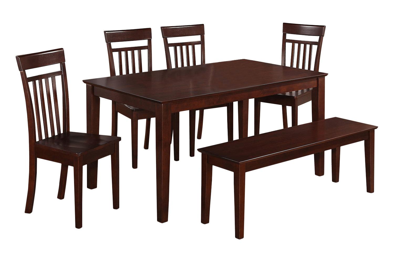 Smyrna 6 Piece Dining Set Pertaining To Latest Smyrna 3 Piece Dining Sets (Image 12 of 20)