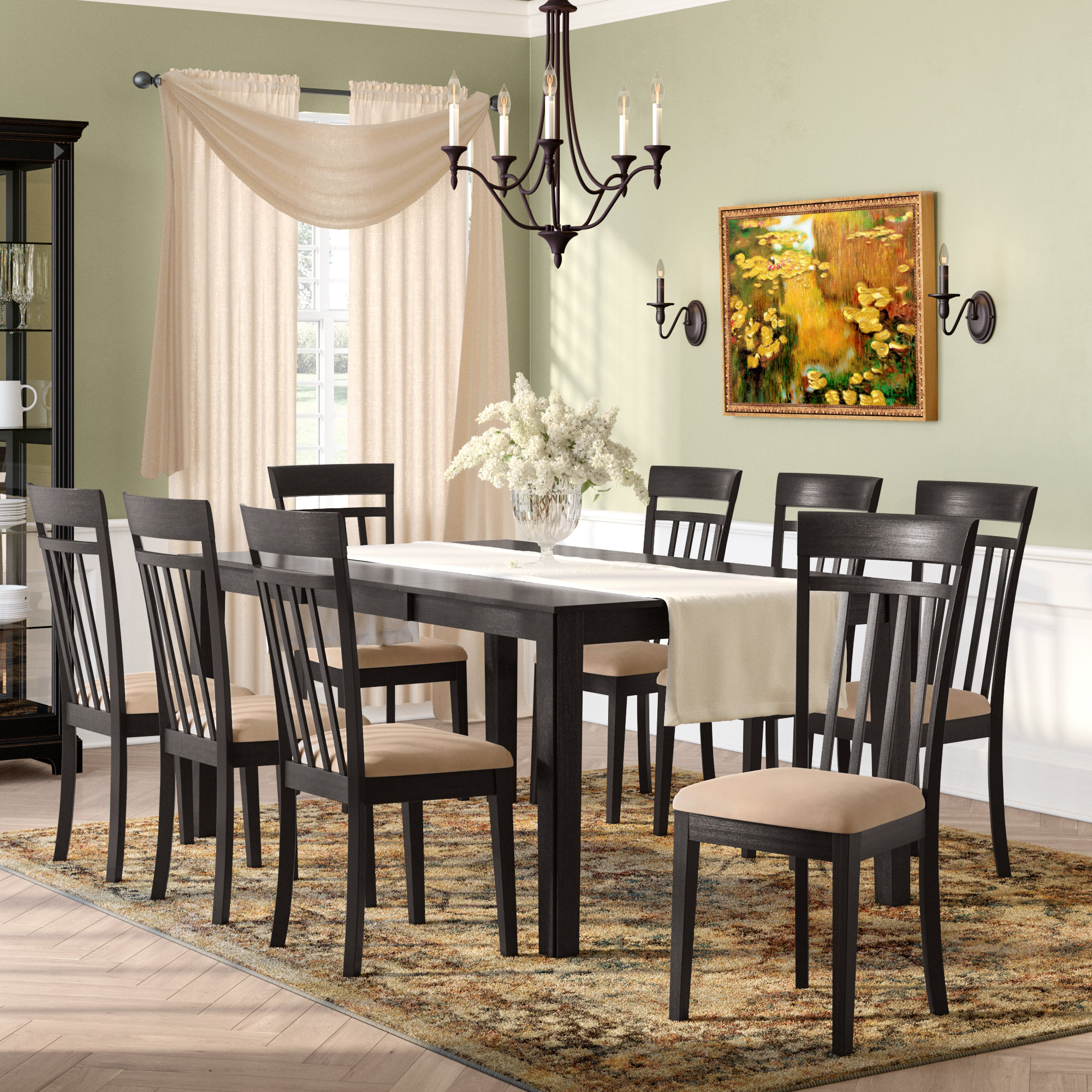Smyrna 9 Piece Dining Set In Most Recent Smyrna 3 Piece Dining Sets (View 2 of 20)