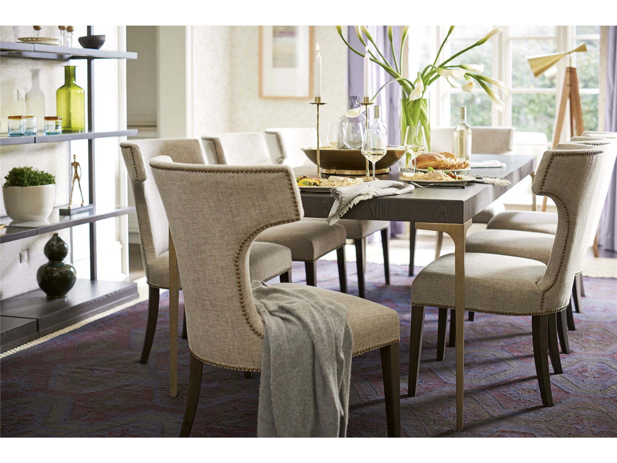 Soliloquy Soliloquy Dining Table   Universal Furniture With Most Recently Released Giles 3 Piece Dining Sets (Image 15 of 20)