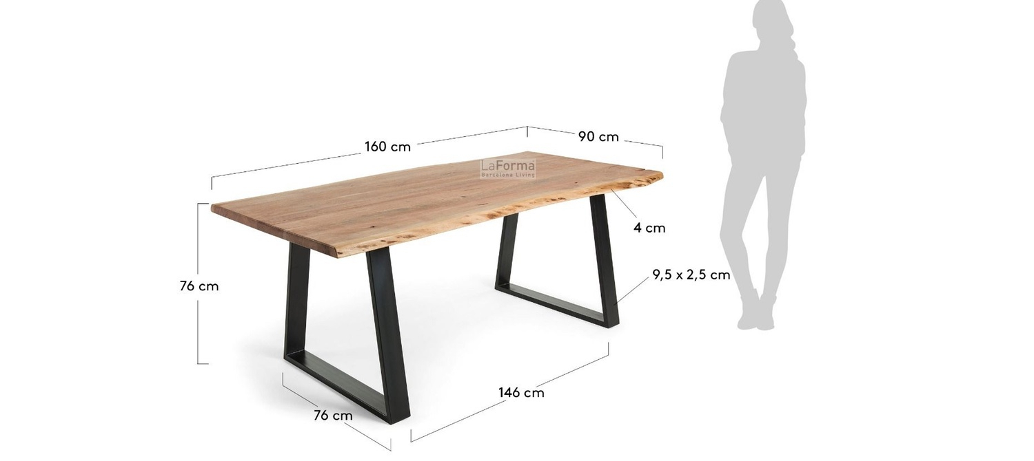 Sona Dining Table 160 220Cm Pertaining To Current Wiggs 5 Piece Dining Sets (View 16 of 20)