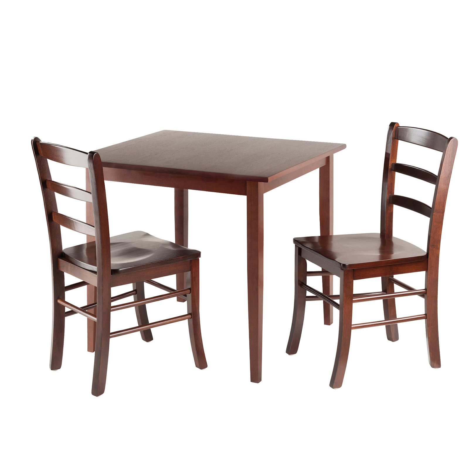Square Kitchen Table And Chairs – Furniture & Interior Intended For Latest Winsome 3 Piece Counter Height Dining Sets (Image 7 of 20)