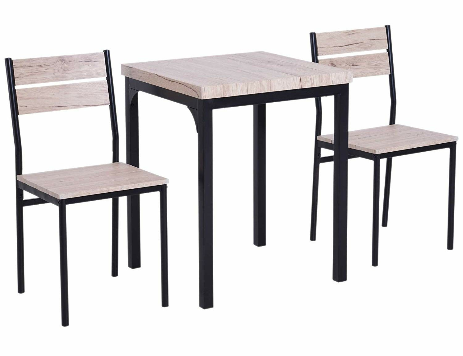 Staley Rustic Country 3 Piece Dining Set For Latest Weatherholt Dining Tables (View 9 of 20)