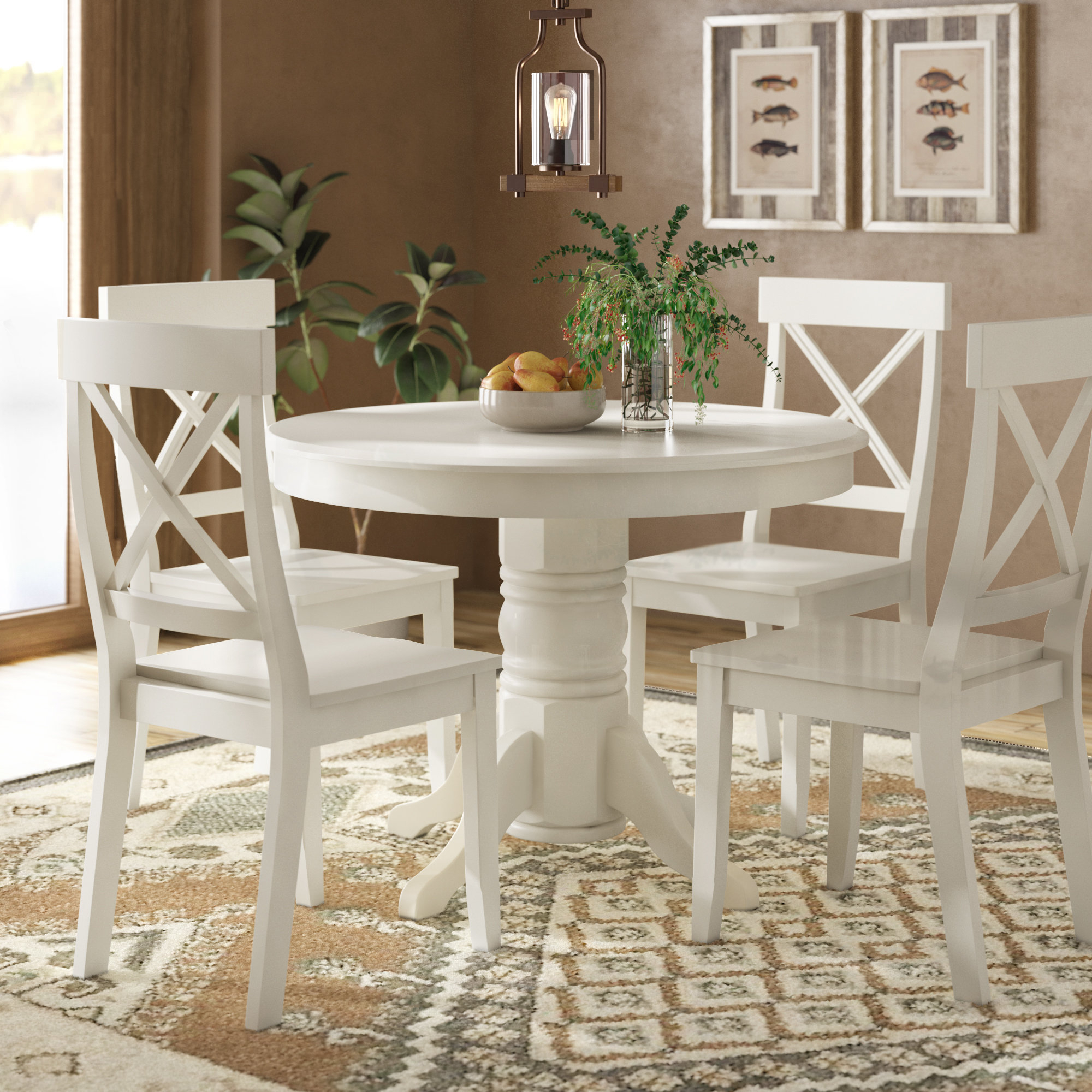 Standridge 5 Piece Dining Set Regarding Most Up To Date Springfield 3 Piece Dining Sets (View 12 of 20)
