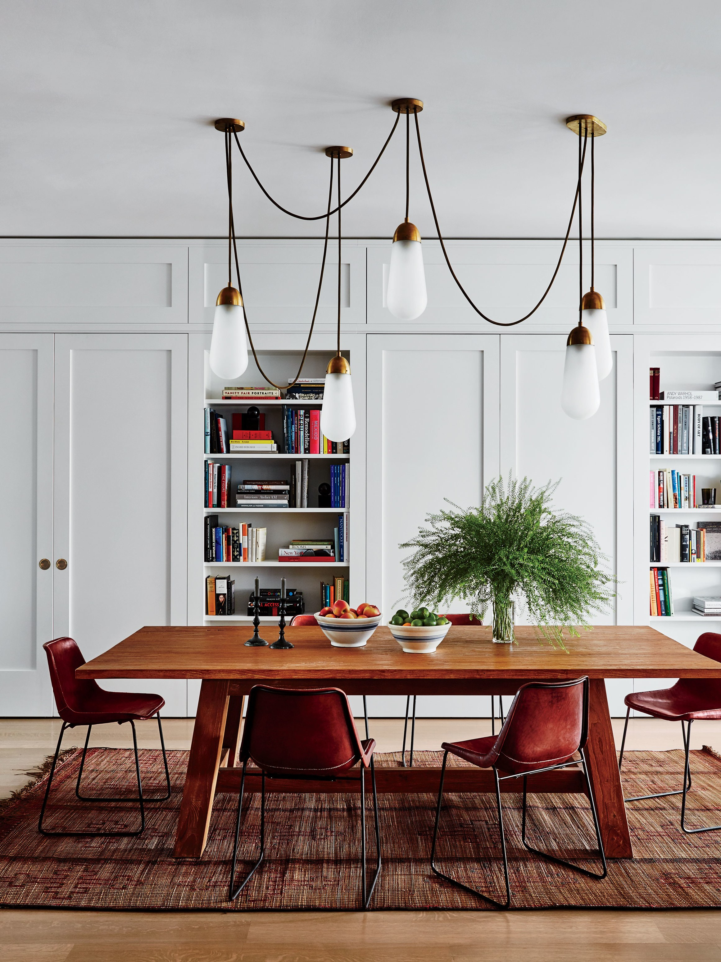 Step Inside 47 Celebrity Dining Rooms | Architectural Digest In Best And Newest Rossi 5 Piece Dining Sets (Image 13 of 20)