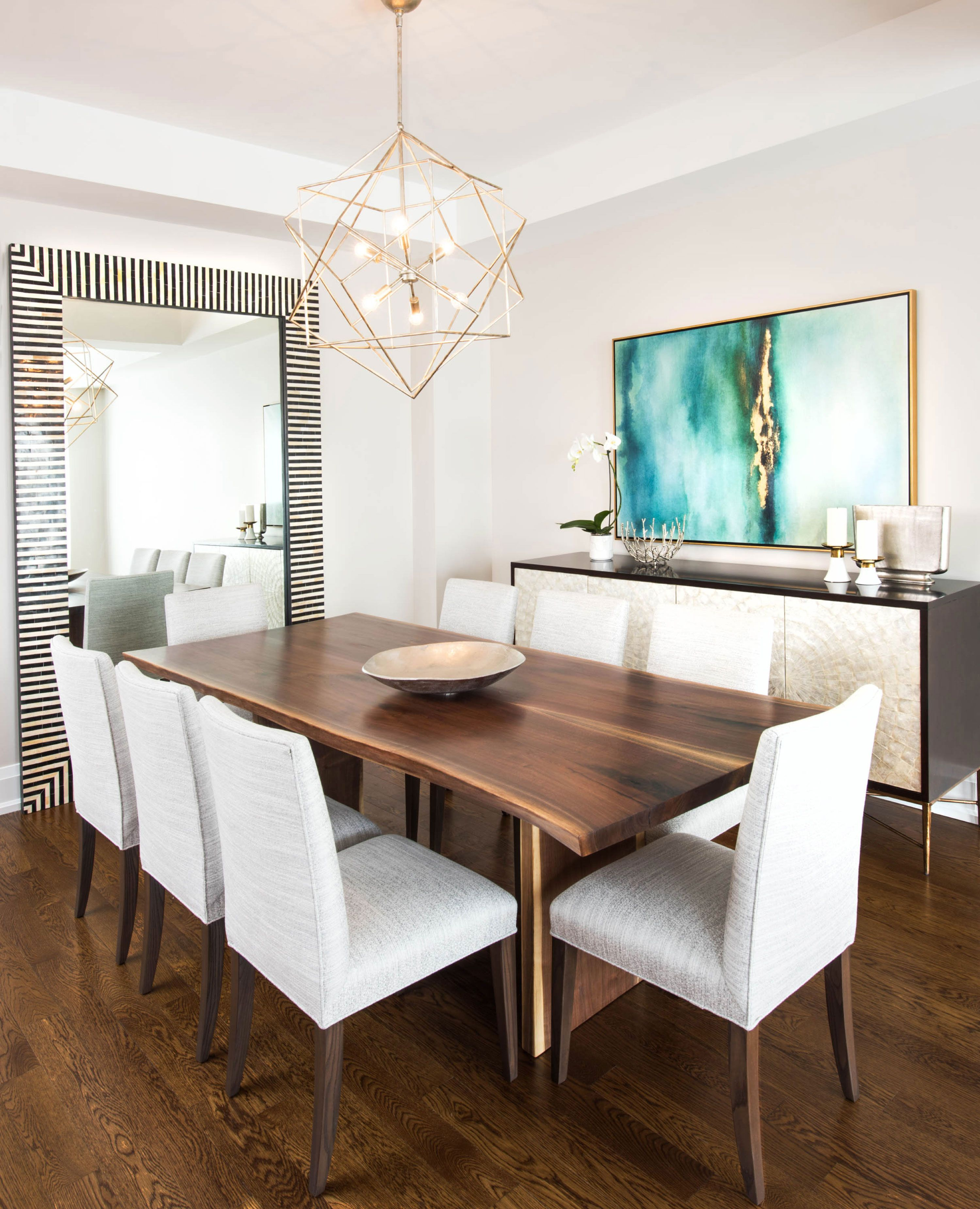 Stunning Black Walnut Dining Tableroca Woodworks | Custom Dining In Most Up To Date Maloney 3 Piece Breakfast Nook Dining Sets (Image 20 of 20)