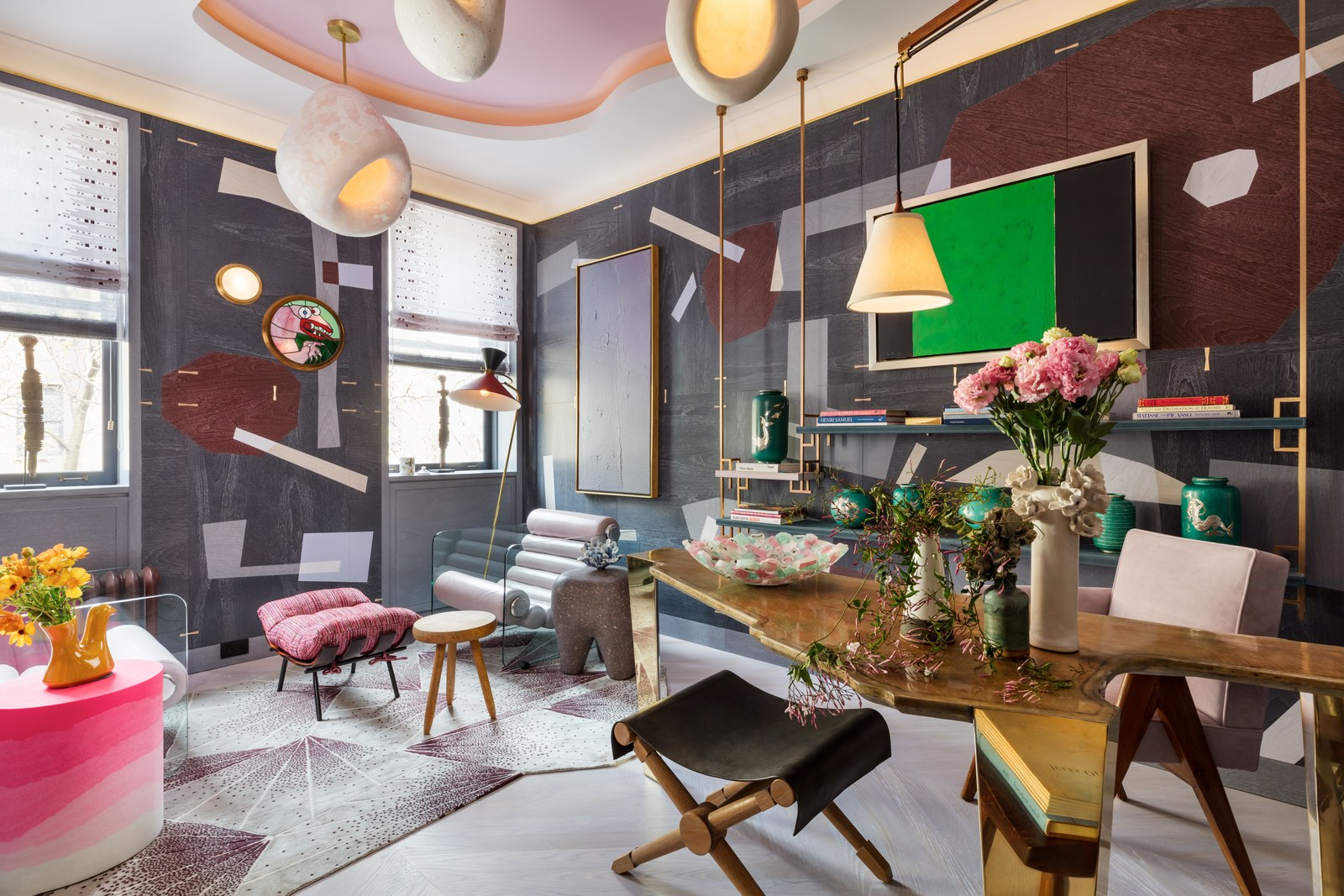 Take A First Look Inside The 2019 Kips Bay Decorator Show House With Most Popular Presson 3 Piece Counter Height Dining Sets (Photo 17 of 20)