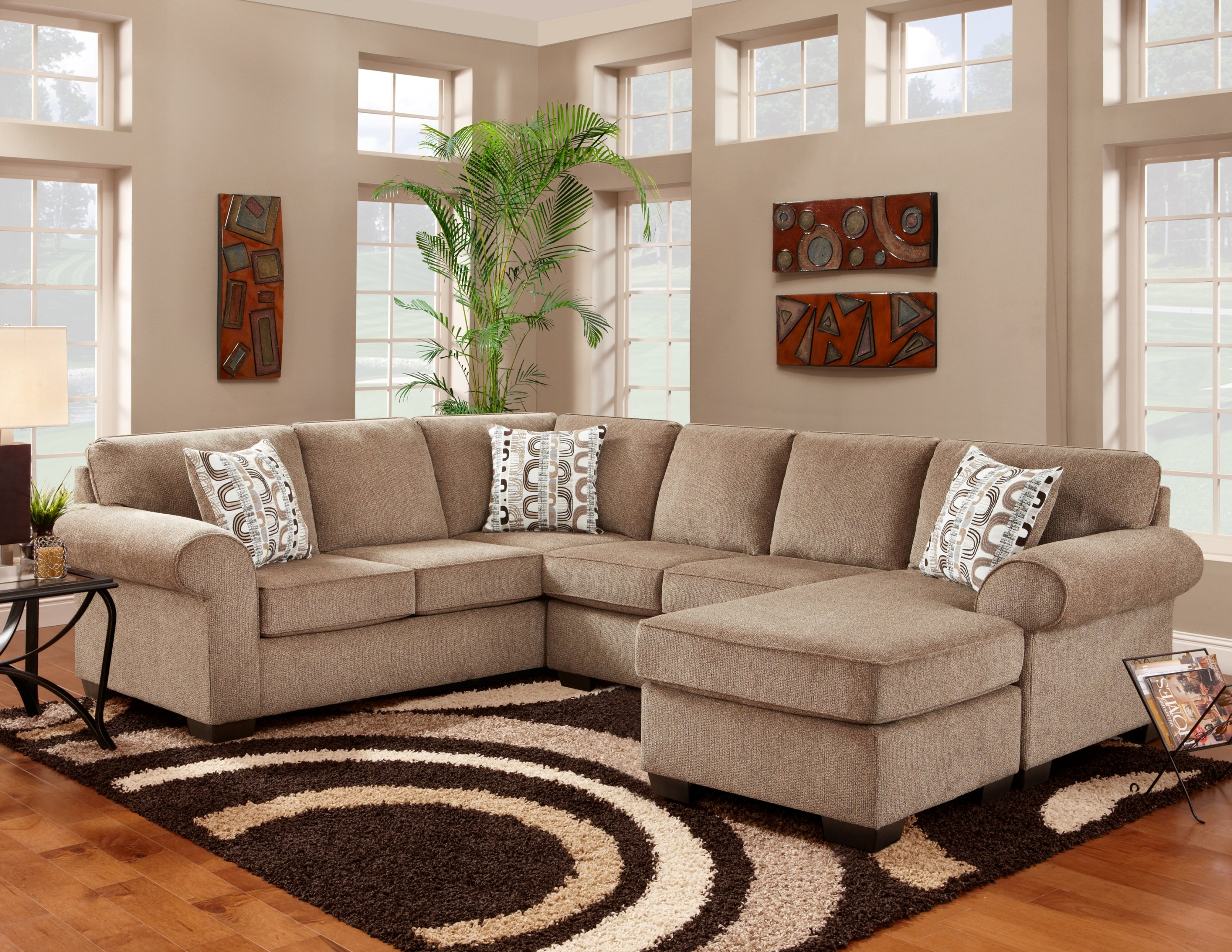Taneytown Reversible Sectional With Regard To Current Rarick 5 Piece Solid Wood Dining Sets (Set Of 5) (Image 19 of 20)