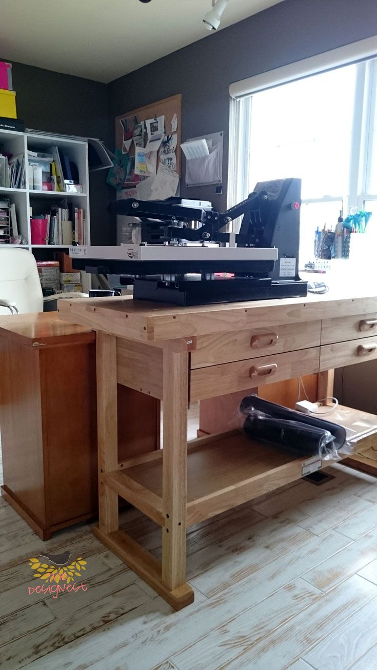 This Workbench Is Great To Put A Heat Press On (Image 18 of 20)