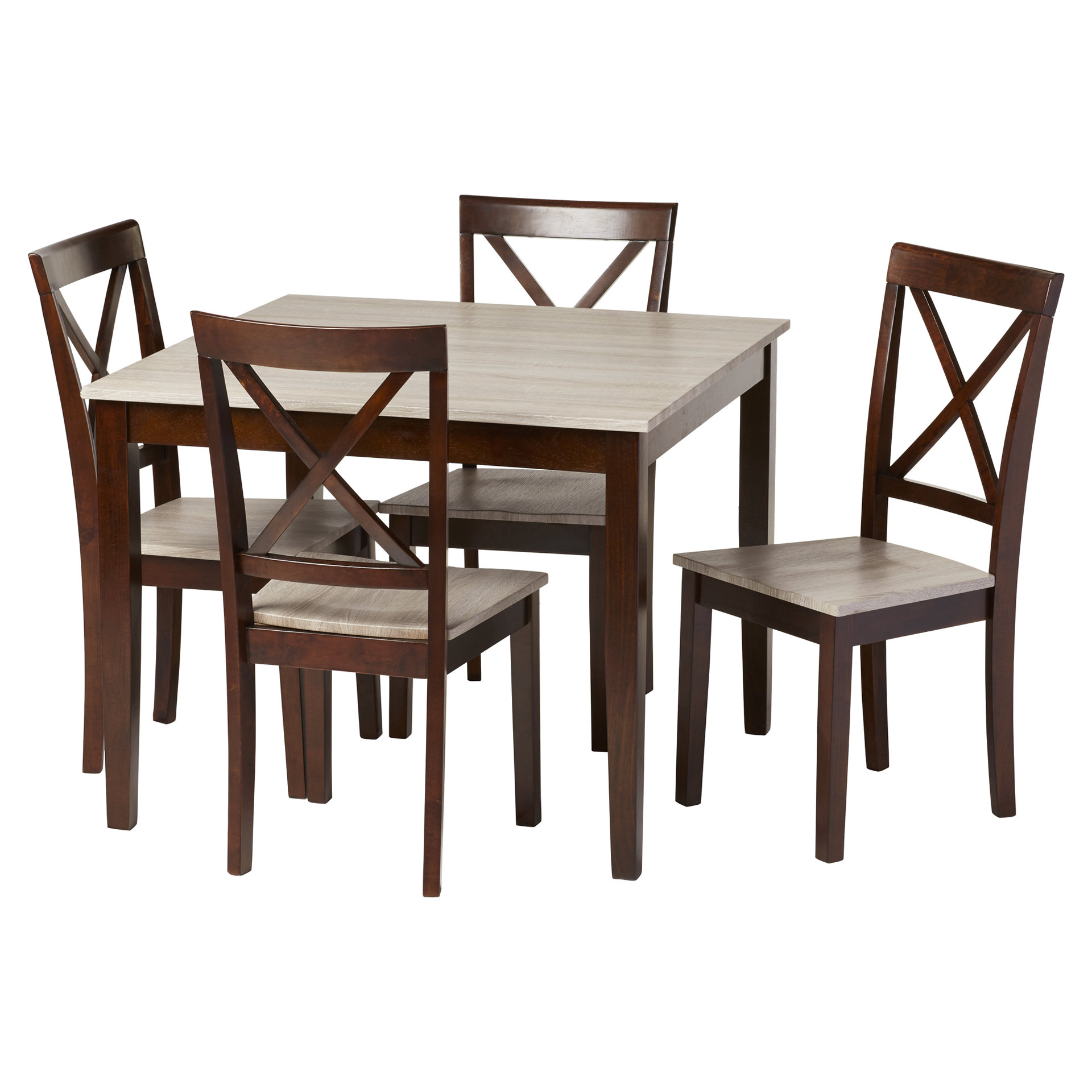 Tilley Rustic 5 Piece Dining Set Within Most Recently Released Pattonsburg 5 Piece Dining Sets (View 13 of 20)