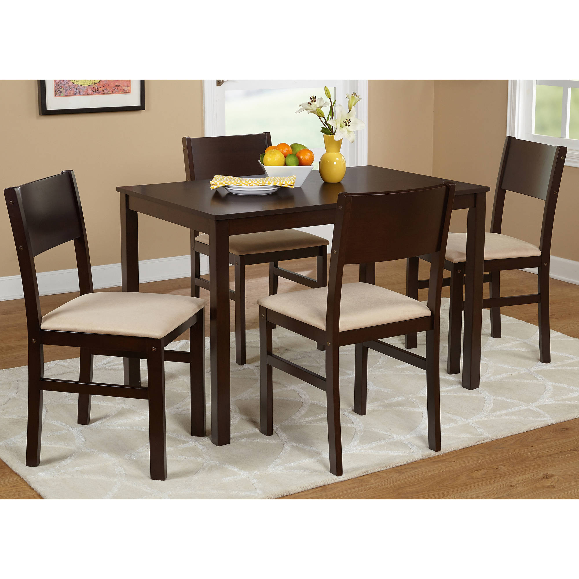 Tms Lucca 5 Piece Dining Set, Multiple Colors Throughout Most Recently Released 5 Piece Dining Sets (View 4 of 20)