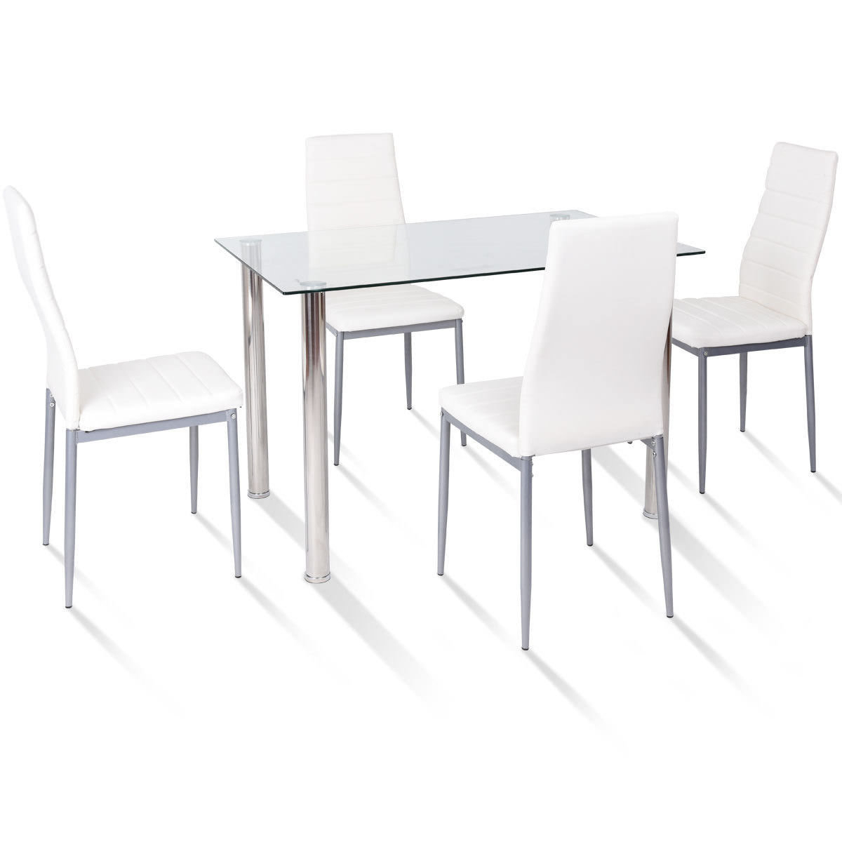 Travon 5 Piece Dining Set With Regard To Best And Newest Stouferberg 5 Piece Dining Sets (View 9 of 20)