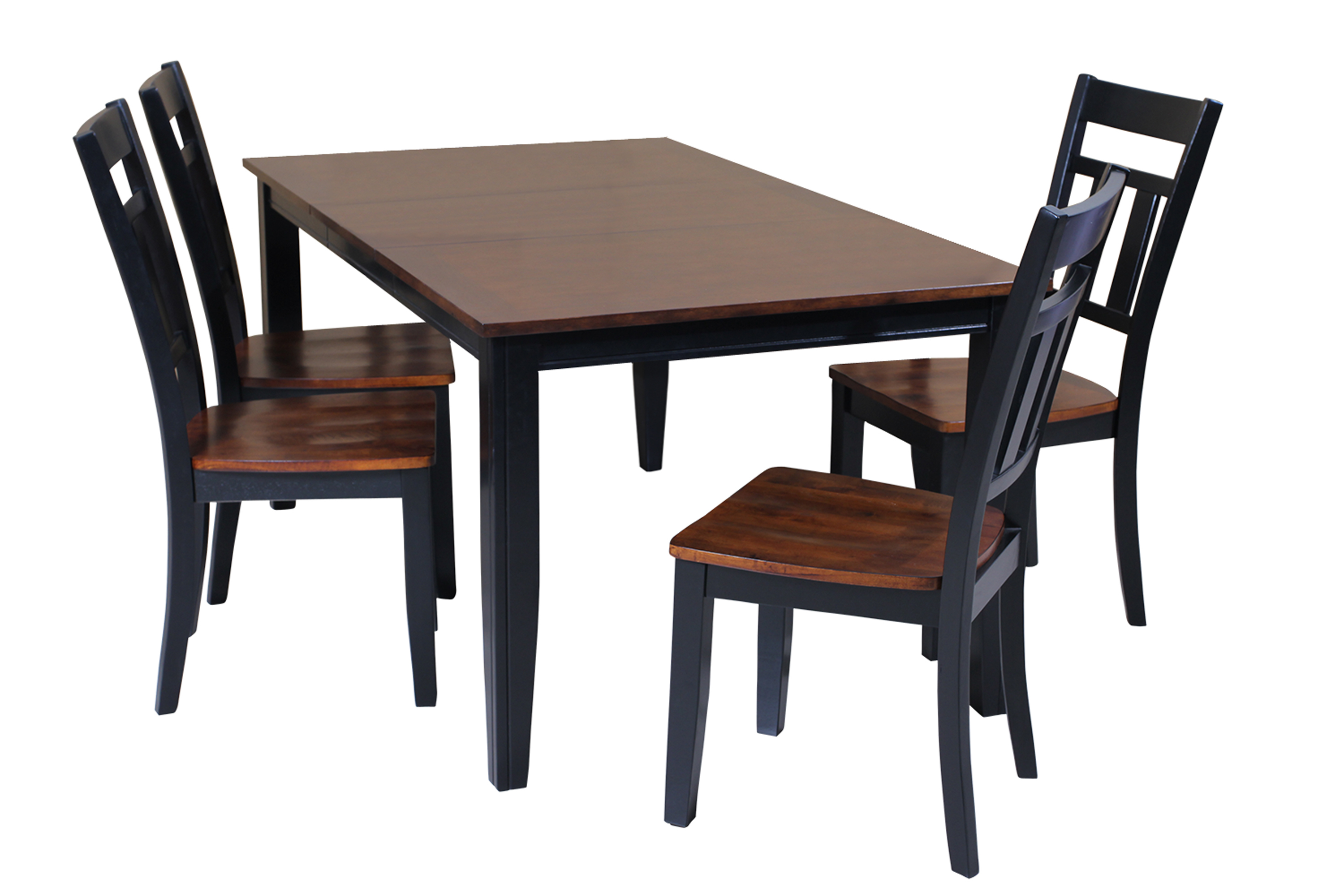 Ttp Furnish In Best And Newest Adan 5 Piece Solid Wood Dining Sets (Set Of 5) (View 14 of 20)