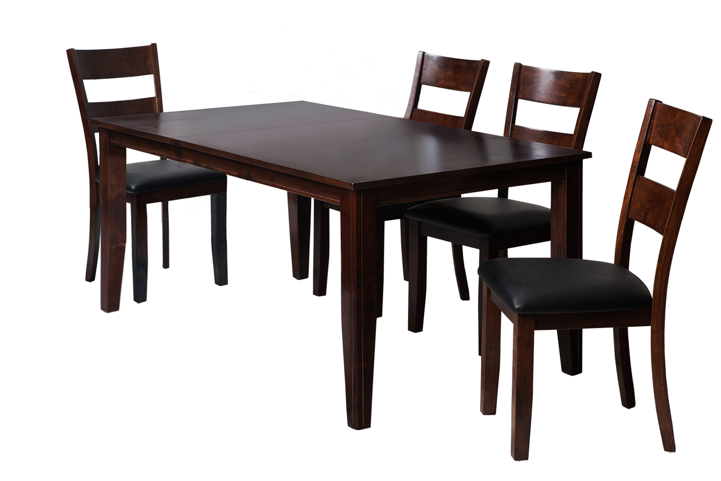 Ttp Furnish Regarding Most Up To Date Adan 5 Piece Solid Wood Dining Sets (Set Of 5) (Image 19 of 20)
