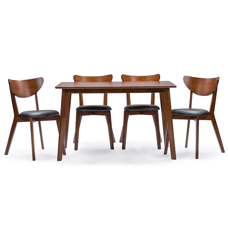 Urijah 5 Piece Dining Set & Reviews | Joss & Main With Regard To Latest Tejeda 5 Piece Dining Sets (View 8 of 20)