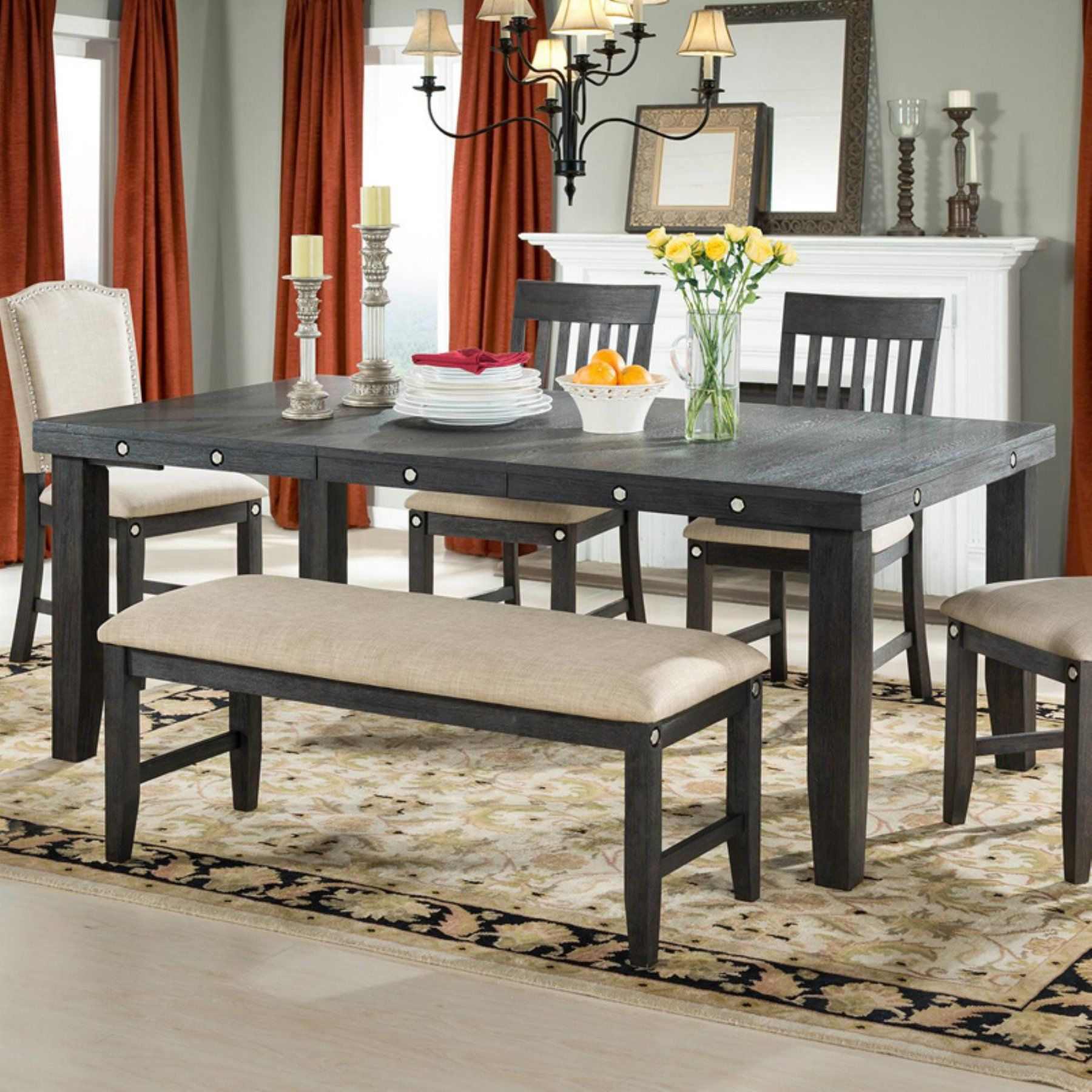 Vilo Home Marseille Provence Dining Table – Vh1100 | Products With Regard To Most Current Pattonsburg 5 Piece Dining Sets (View 12 of 20)