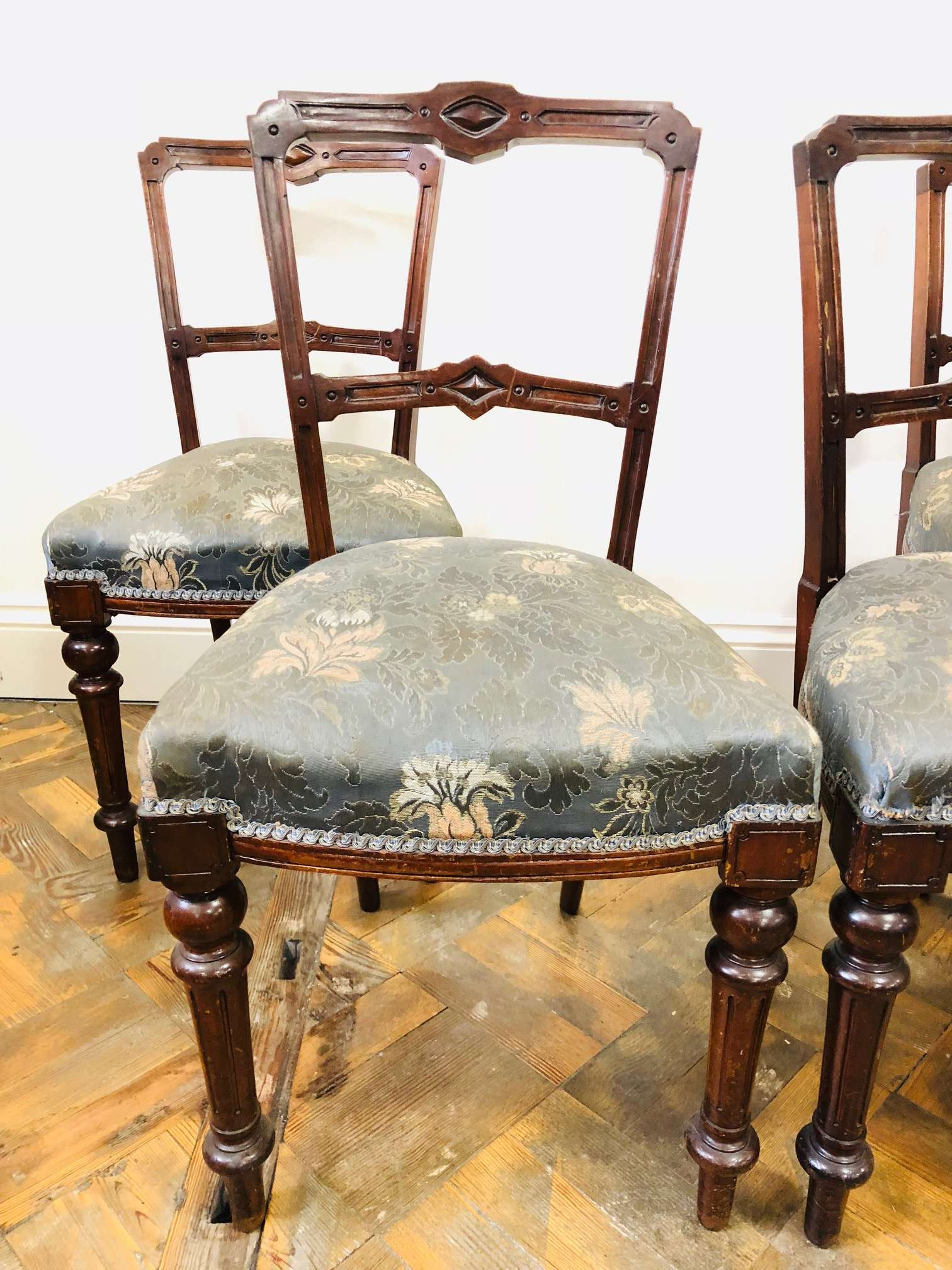 Walnut Dining Chairs 2 Of 3 – The Penderyn Furniture Co (Image 20 of 20)