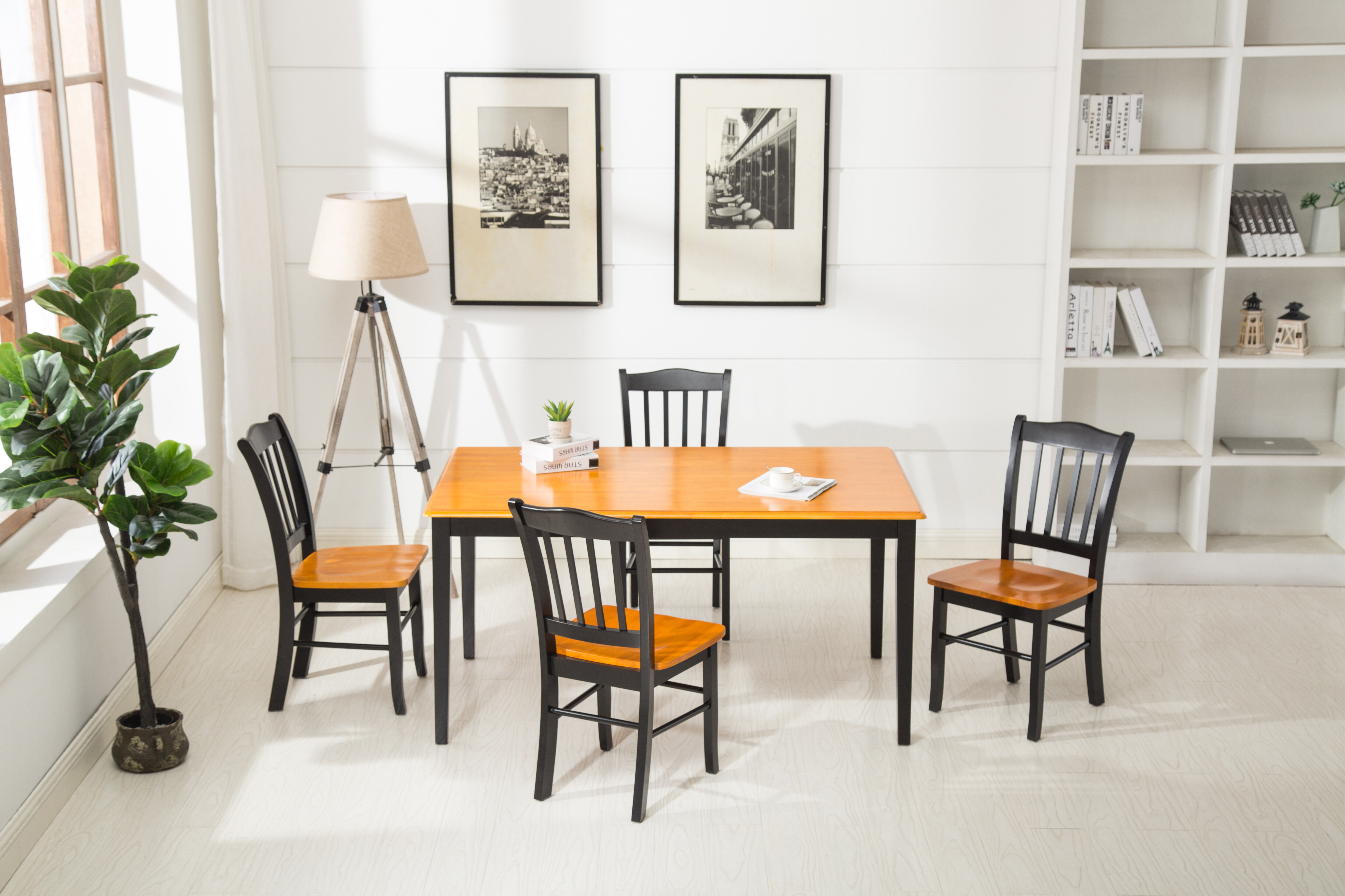 Weldy 5 Piece Dining Set Pertaining To Latest Linette 5 Piece Dining Table Sets (View 10 of 20)