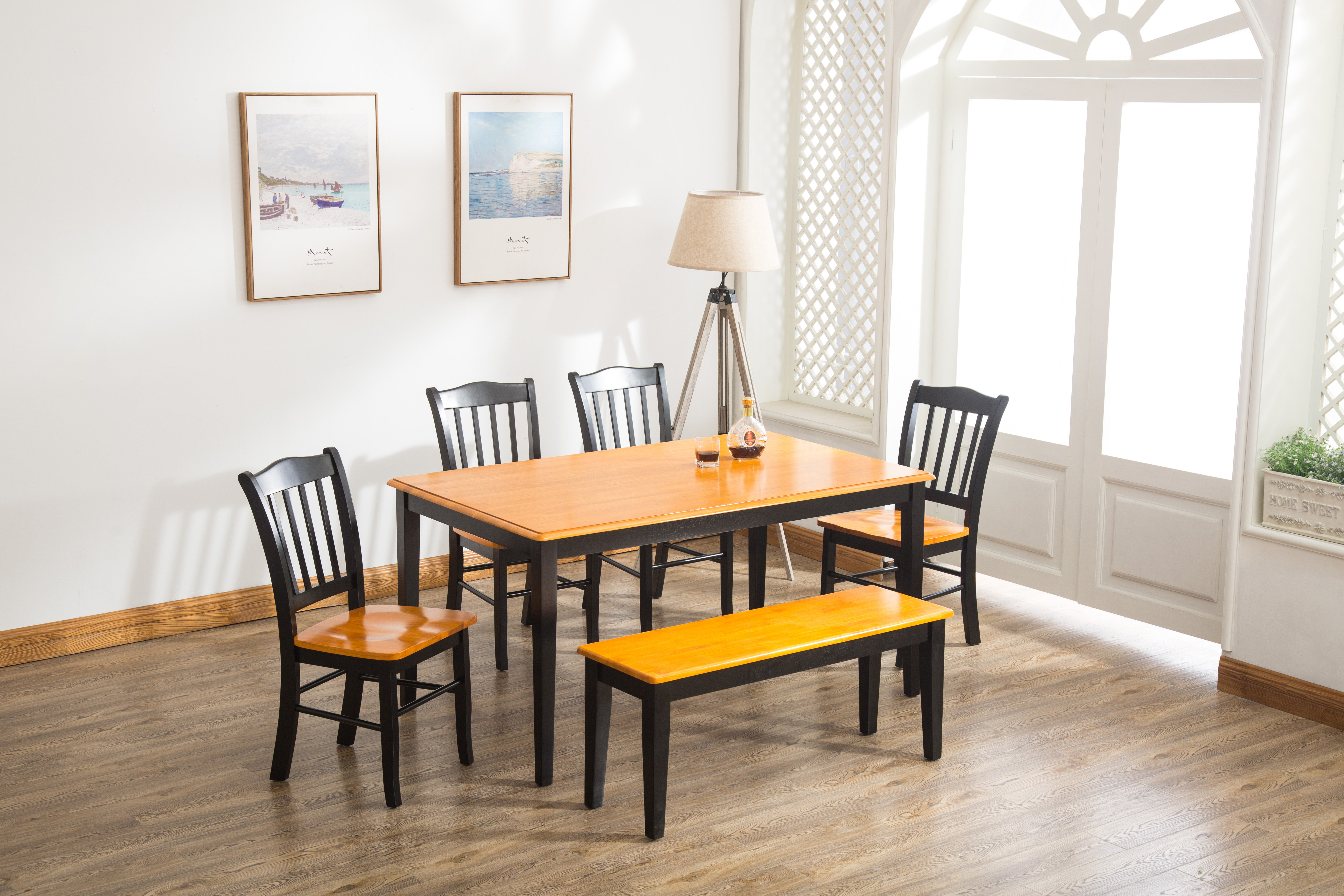 Weldy 6 Piece Dining Set Inside 2018 Linette 5 Piece Dining Table Sets (Image 20 of 20)