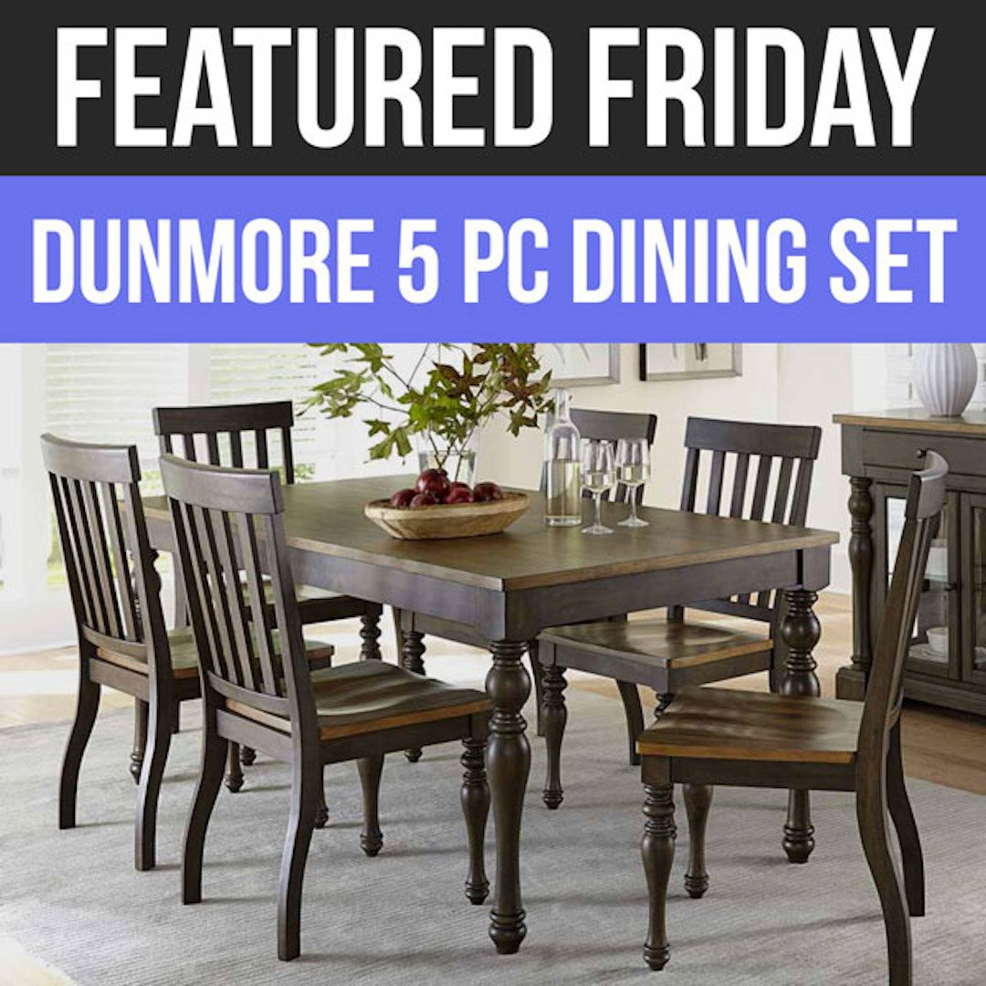 When All Is Said & Dunmore: We Love This New Dining Set! | Featured Throughout Most Popular Cargo 5 Piece Dining Sets (View 17 of 20)