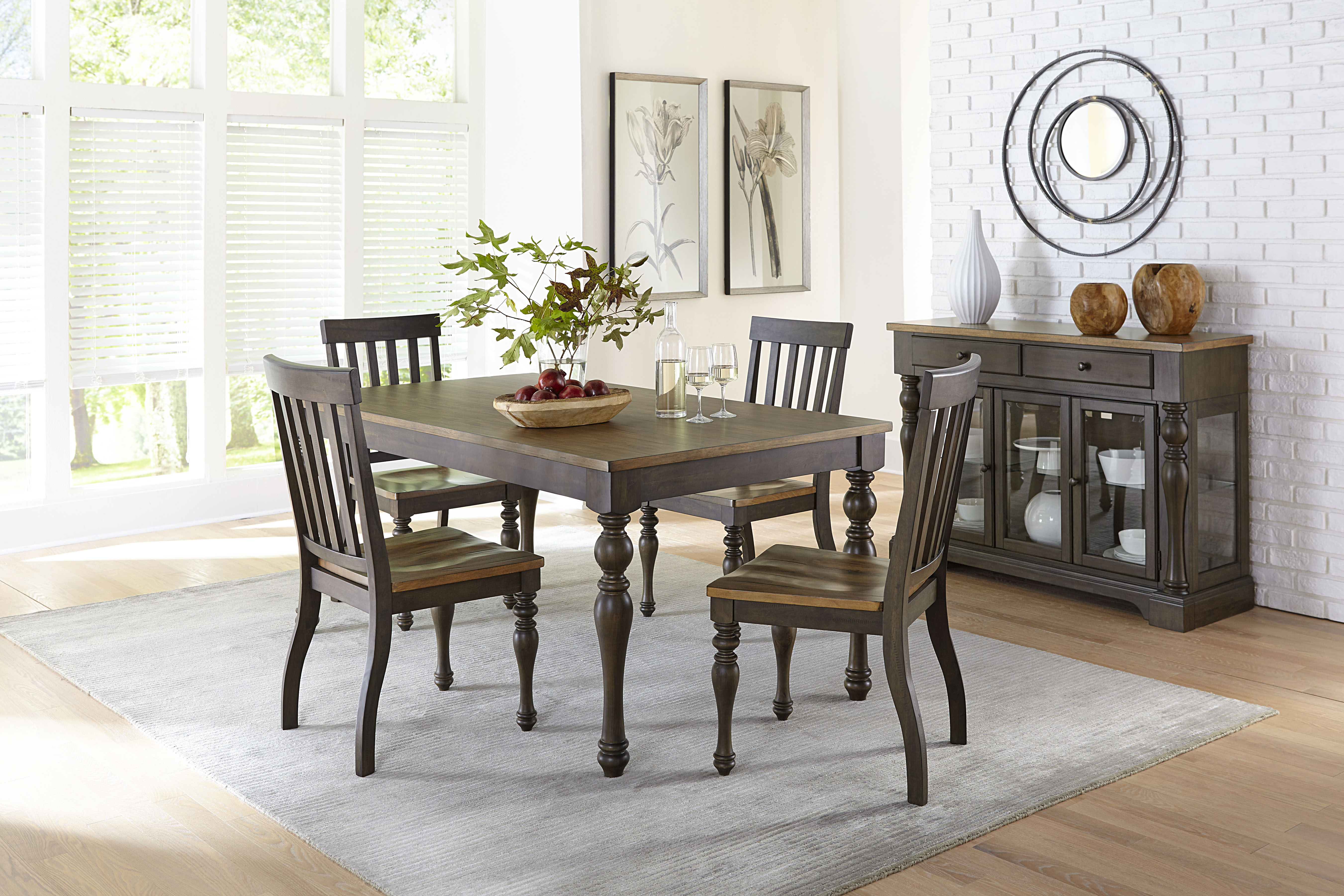 When All Is Said & Dunmore: We Love This New Dining Set! Inside Newest Cargo 5 Piece Dining Sets (View 6 of 20)