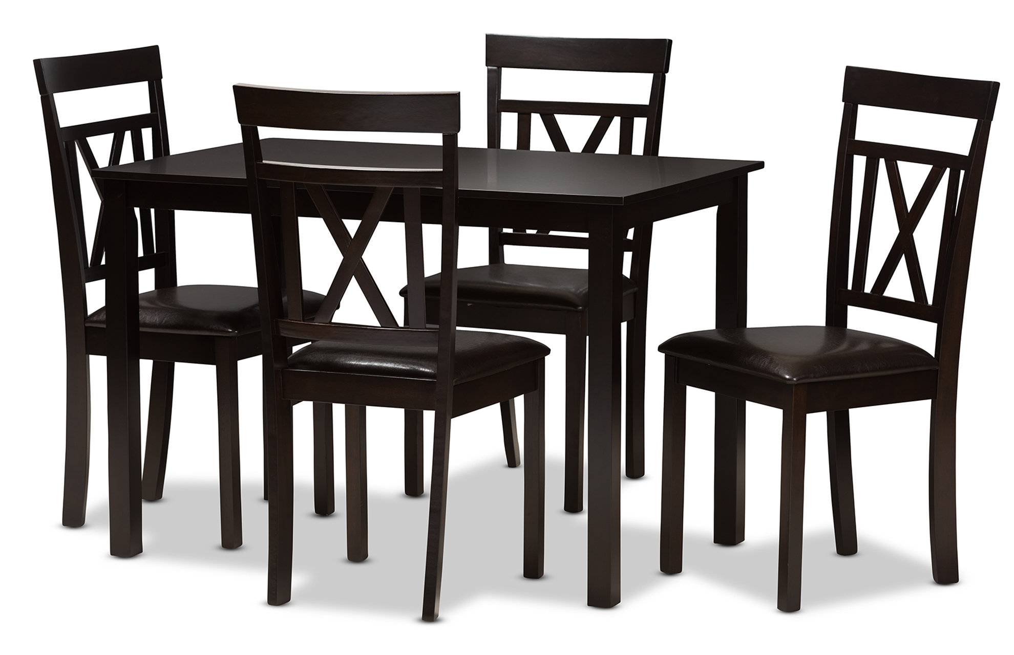 Whitbey Modern And Contemporary 5 Piece Breakfast Nook Dining Set Inside Most Up To Date 5 Piece Breakfast Nook Dining Sets (View 6 of 20)