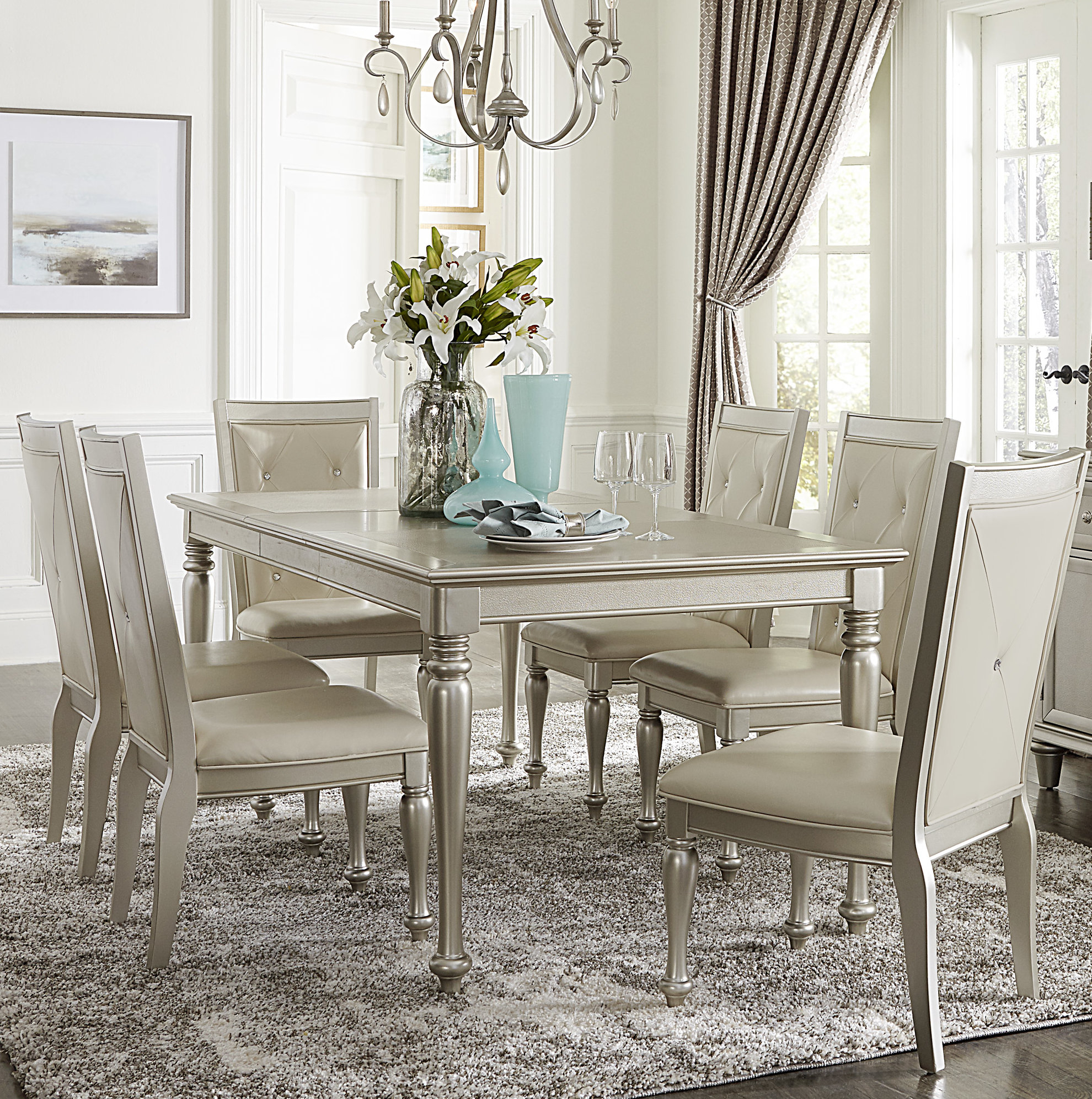 Willa Arlo Interiors Whitford Dining Table With Regard To Most Up To Date Lamotte 5 Piece Dining Sets (Image 20 of 20)