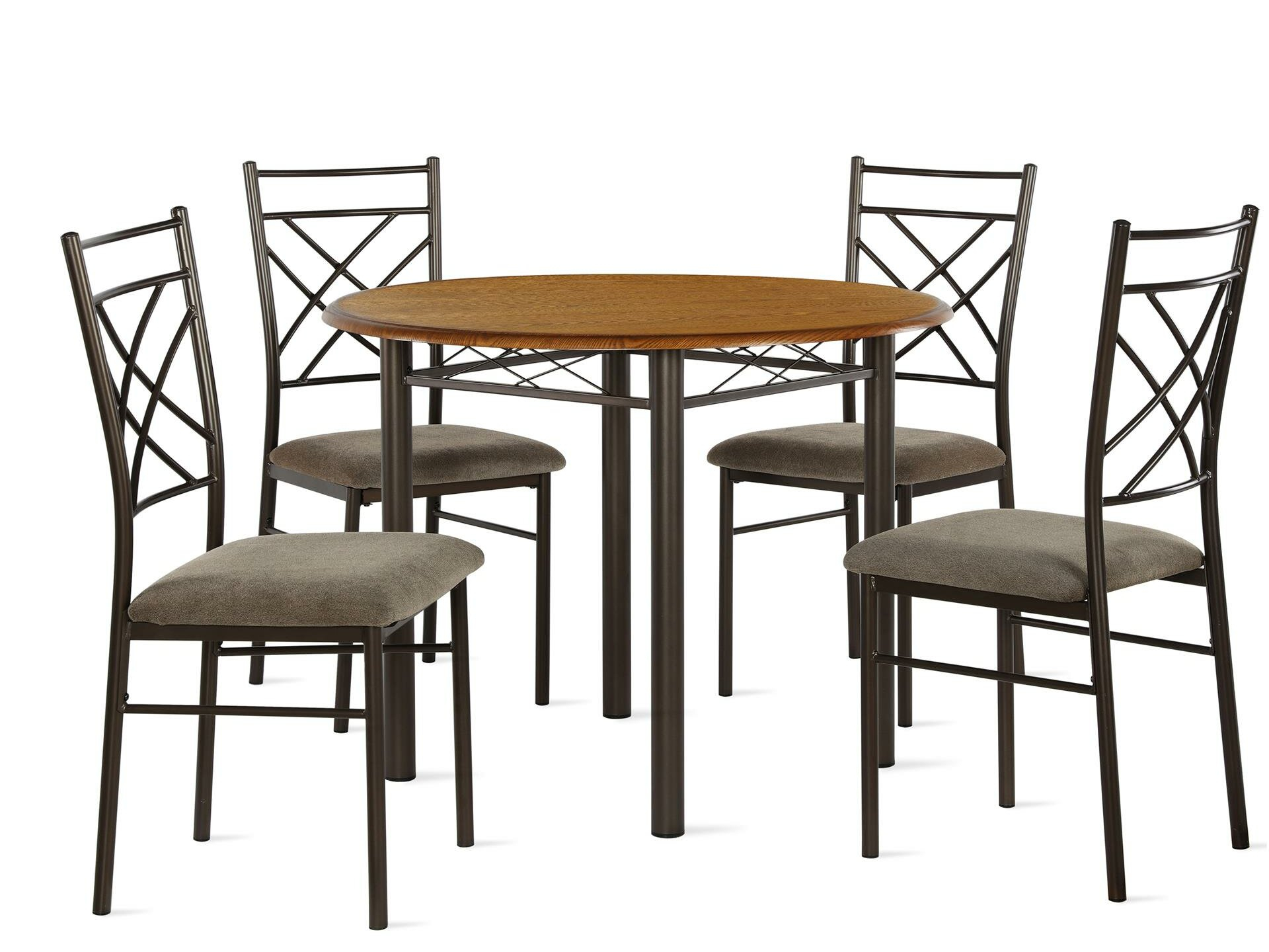 Winston Porter Janiya 5 Piece Dining Set Pertaining To 2017 Kaelin 5 Piece Dining Sets (View 10 of 20)