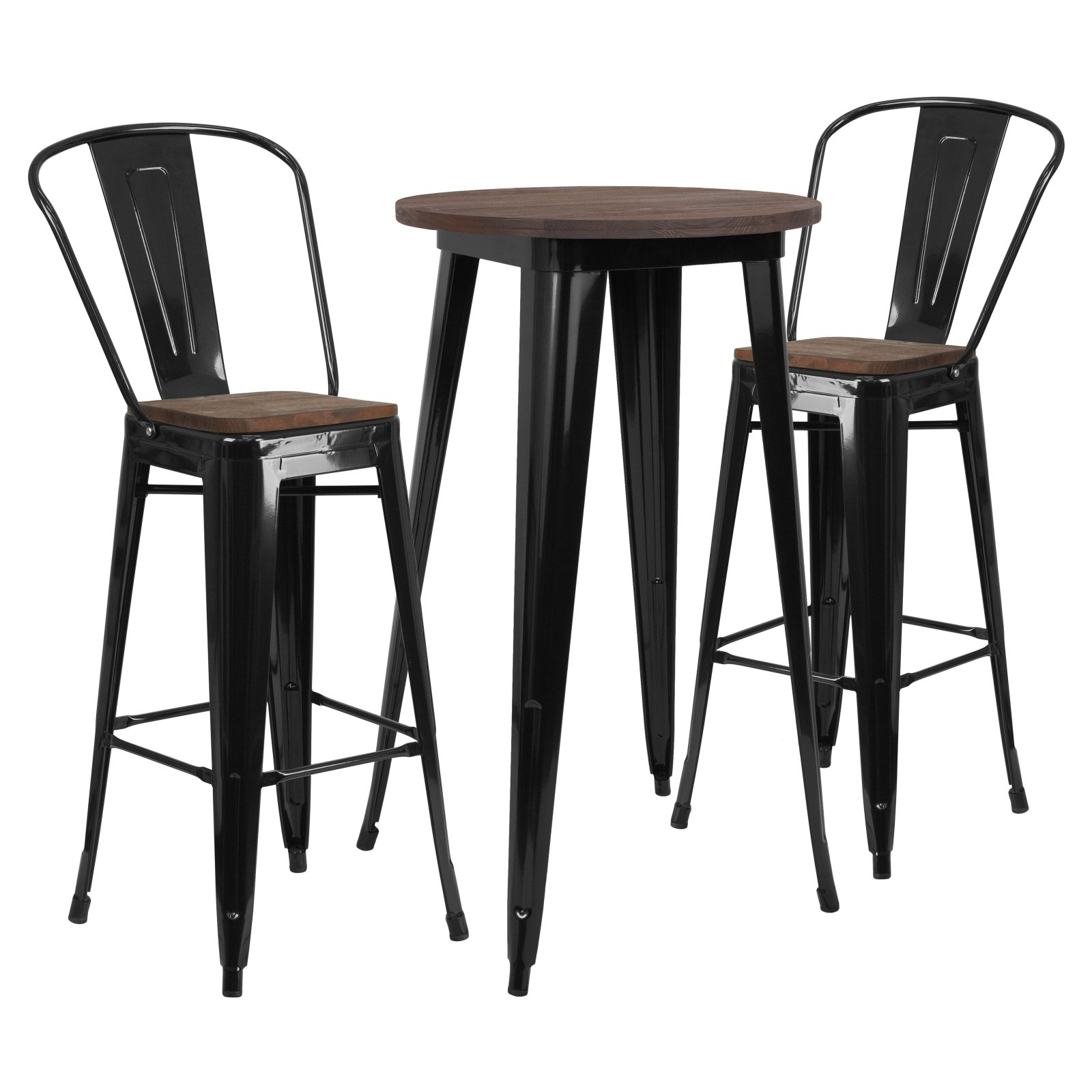 Wsb Winston Porter Miskell 3 Piece Dining Set | Morot 2 In 2019 | 3 With Most Recent Miskell 3 Piece Dining Sets (Image 20 of 20)