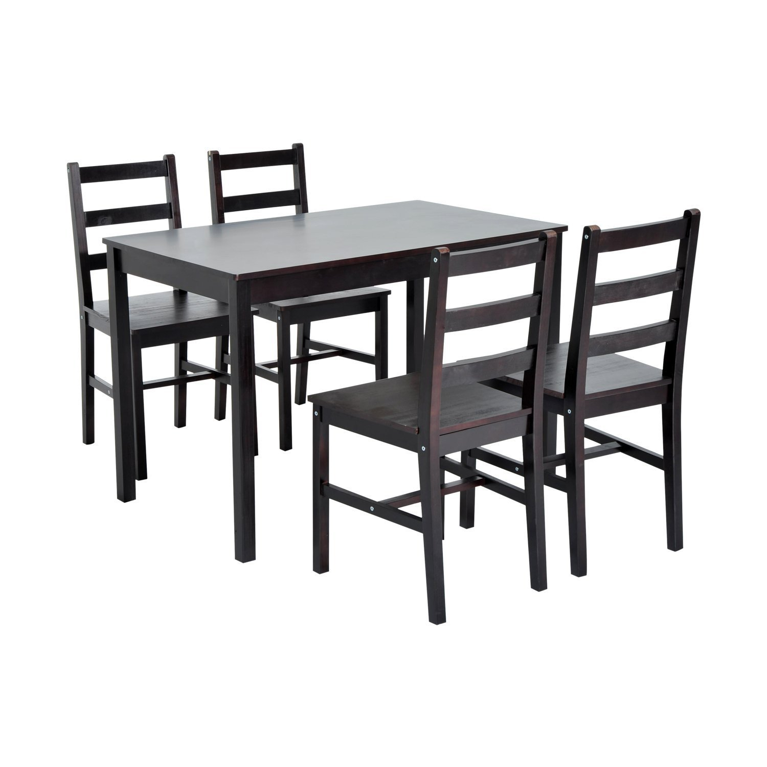 Yedinak 5 Piece Solid Wood Dining Set Throughout Most Popular Sundberg 5 Piece Solid Wood Dining Sets (Photo 2 of 20)