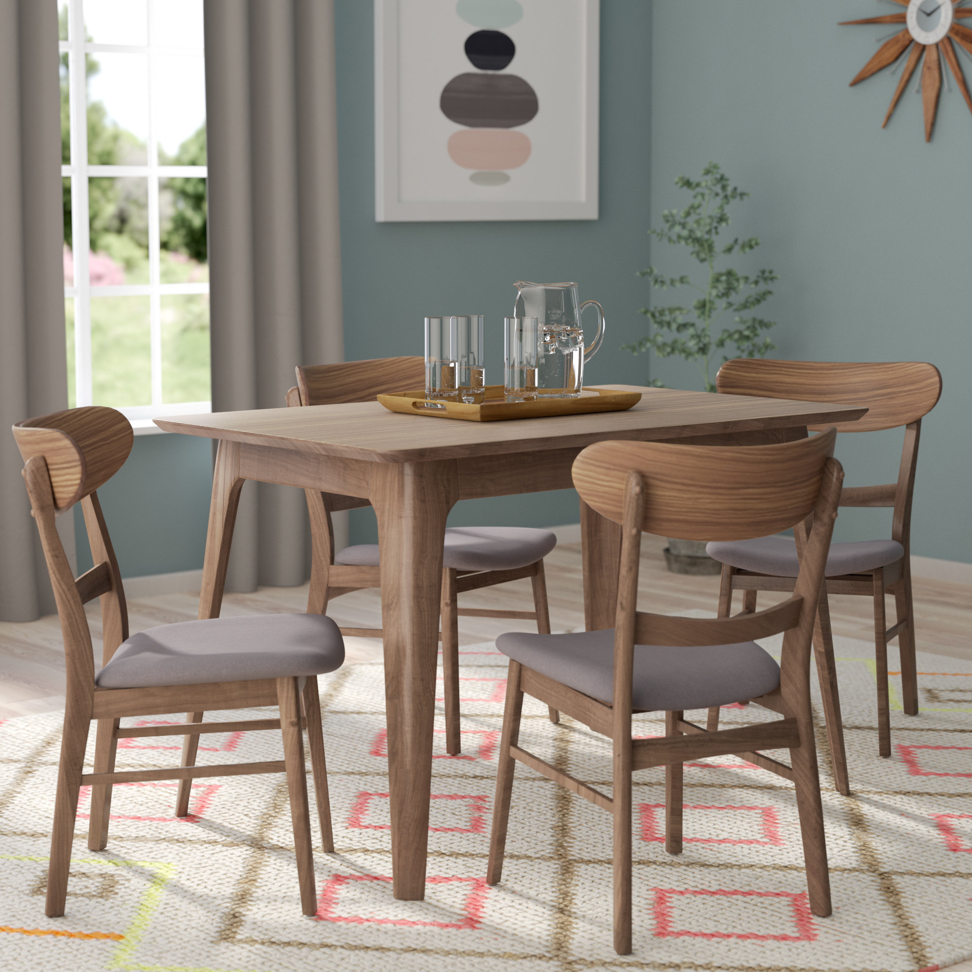 Yolanda 5 Piece Dining Set Within Most Popular 5 Piece Dining Sets (View 14 of 20)