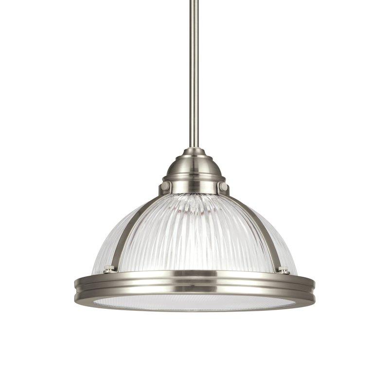 1 Light Bowl Pendant Intended For Granville 2 Light Single Dome Pendants (View 12 of 25)