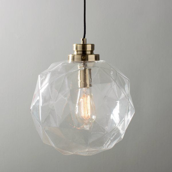 1 Light Geometric Globe Pendant | Kitchen Lighting Ideas In For 1 Light Geometric Globe Pendants (Image 4 of 25)