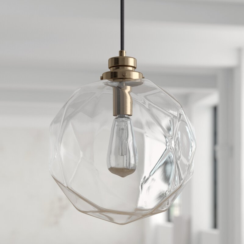 Featured Image of 1 Light Geometric Globe Pendants