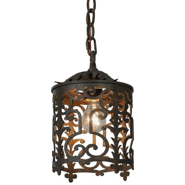 1 Light Lantern Drum Pendant With Willems 1 Light Single Drum Pendants (Image 1 of 25)