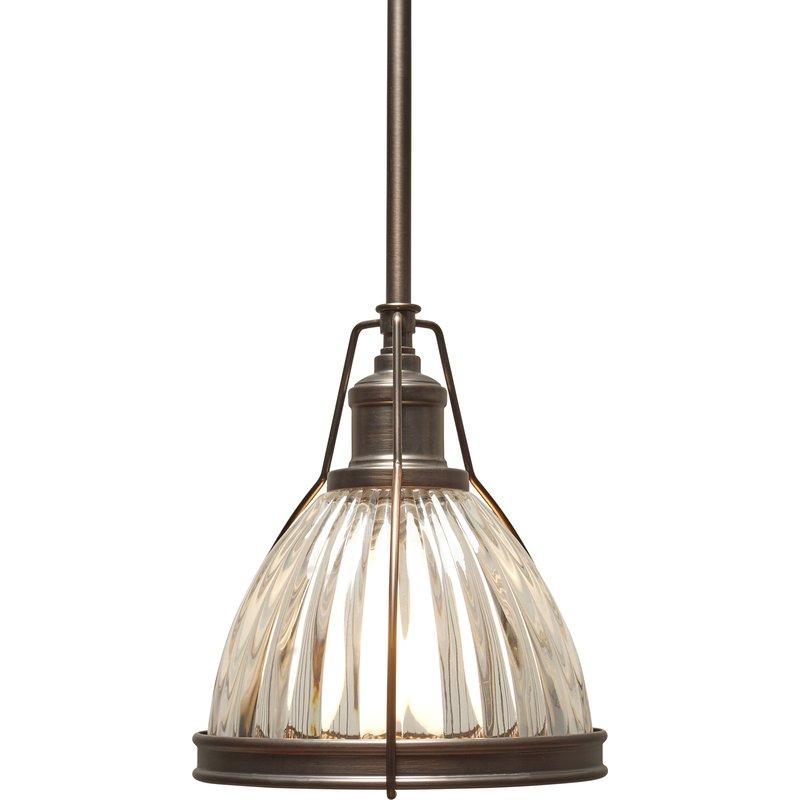 1 Light Single Bell Pendant For 1 Light Single Bell Pendants (Image 1 of 25)