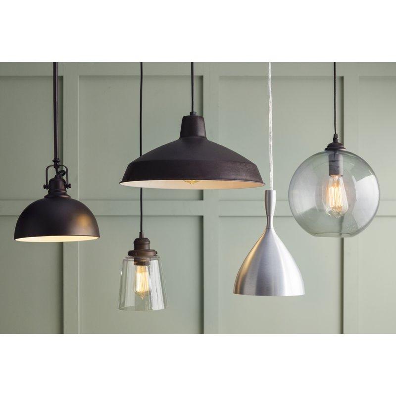 1 Light Single Bell Pendant For Roslindale 1 Light Single Bell Pendants (View 21 of 25)