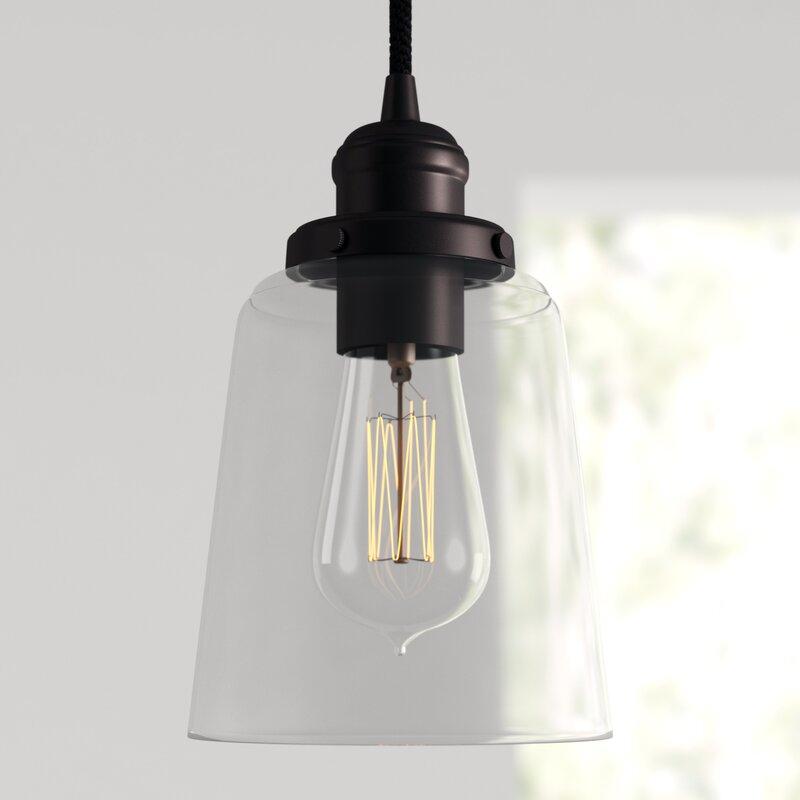 1 Light Single Bell Pendant In Roslindale 1 Light Single Bell Pendants (View 15 of 25)