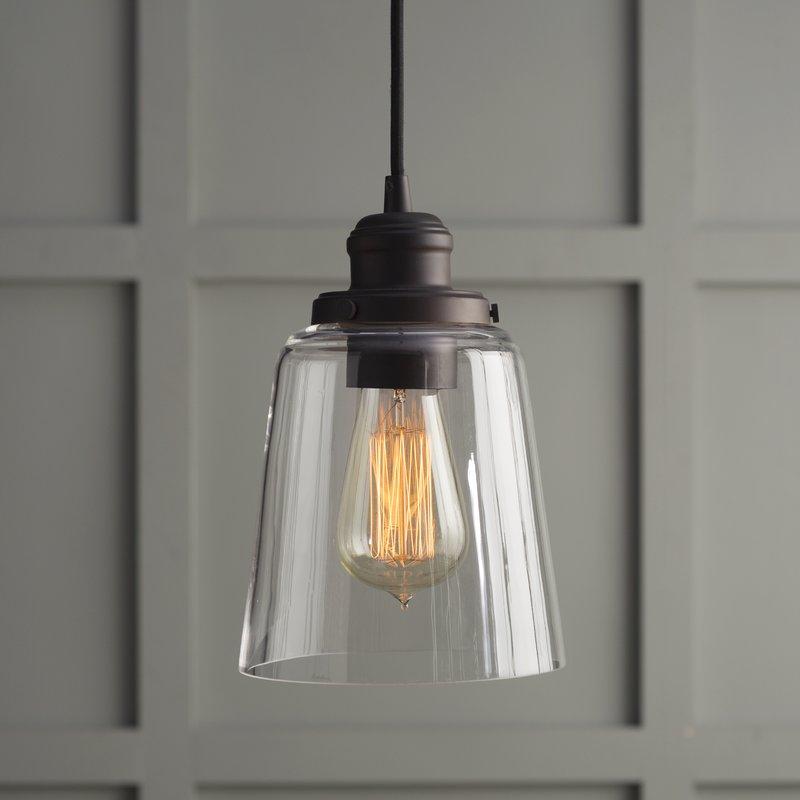 1 Light Single Bell Pendant Within 1 Light Single Bell Pendants (Image 2 of 25)