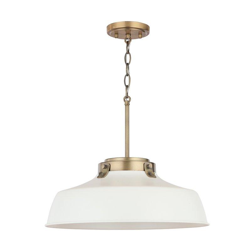 1 Light Single Dome Pendant In 1 Light Single Dome Pendants (Image 1 of 25)