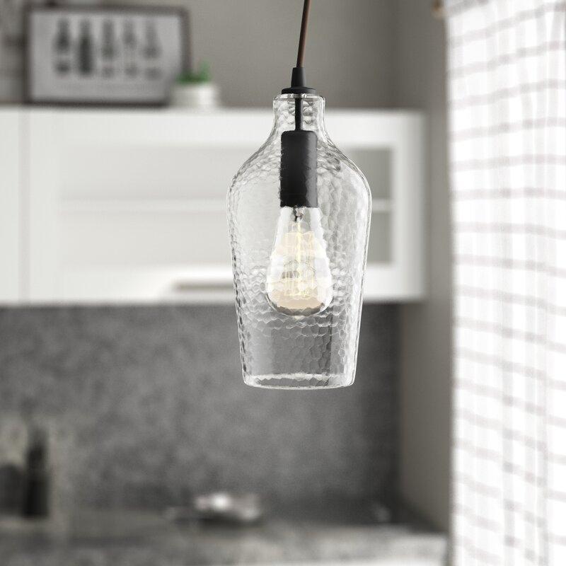 1 Light Single Jar Pendant With Regard To Bundaberg 1 Light Single Bell Pendants (View 21 of 25)